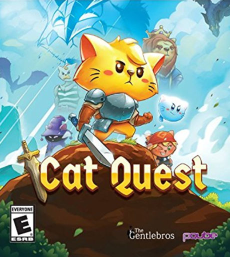 Cat Chat with the GentleBros on Cat Quest   Cat with Monocle