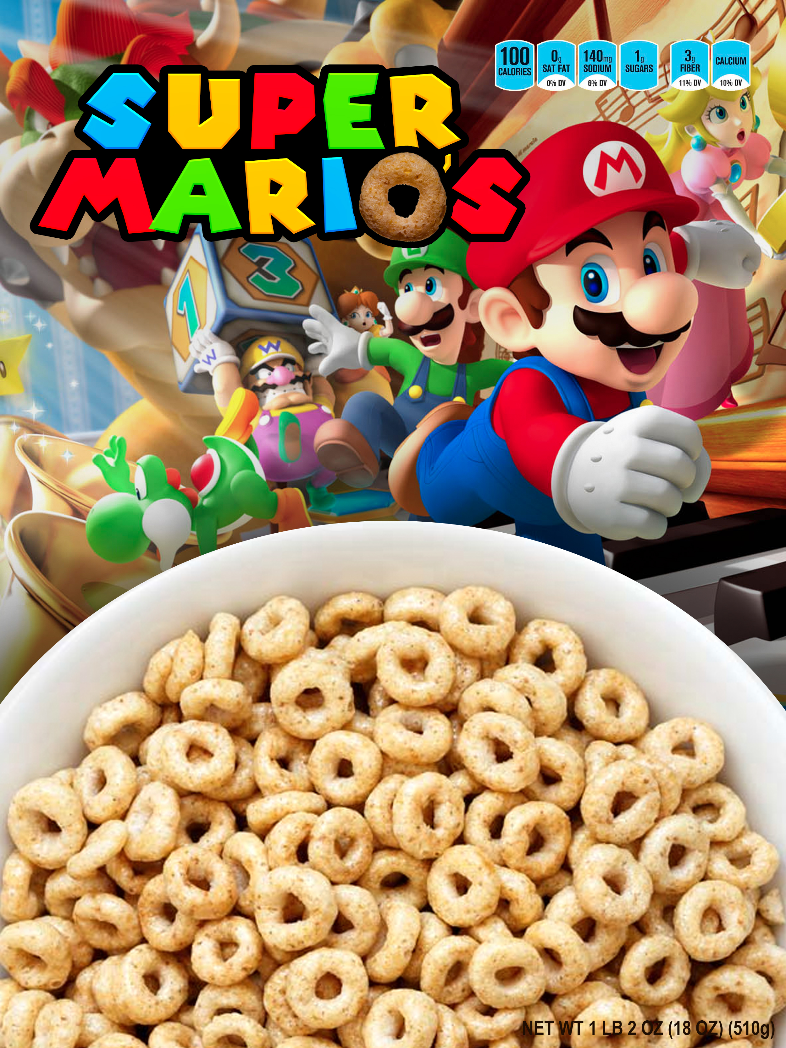 custom cereal amiibo boxes