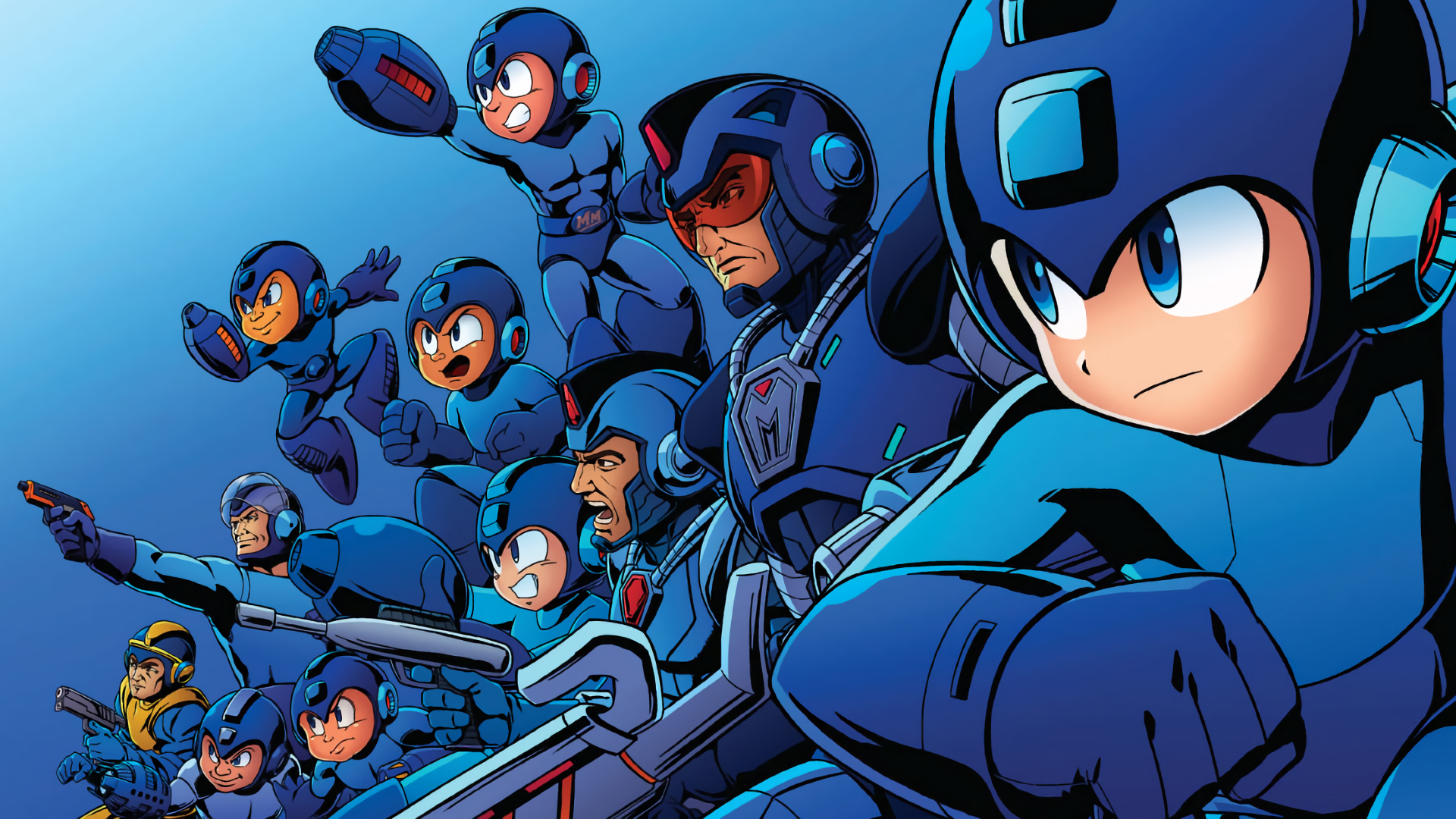 Mega Man 30th Anniversary Wallpapers