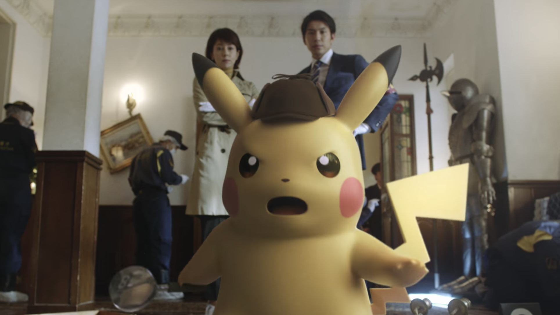 Check Out The Japanese Commercial For Detective Pikachu