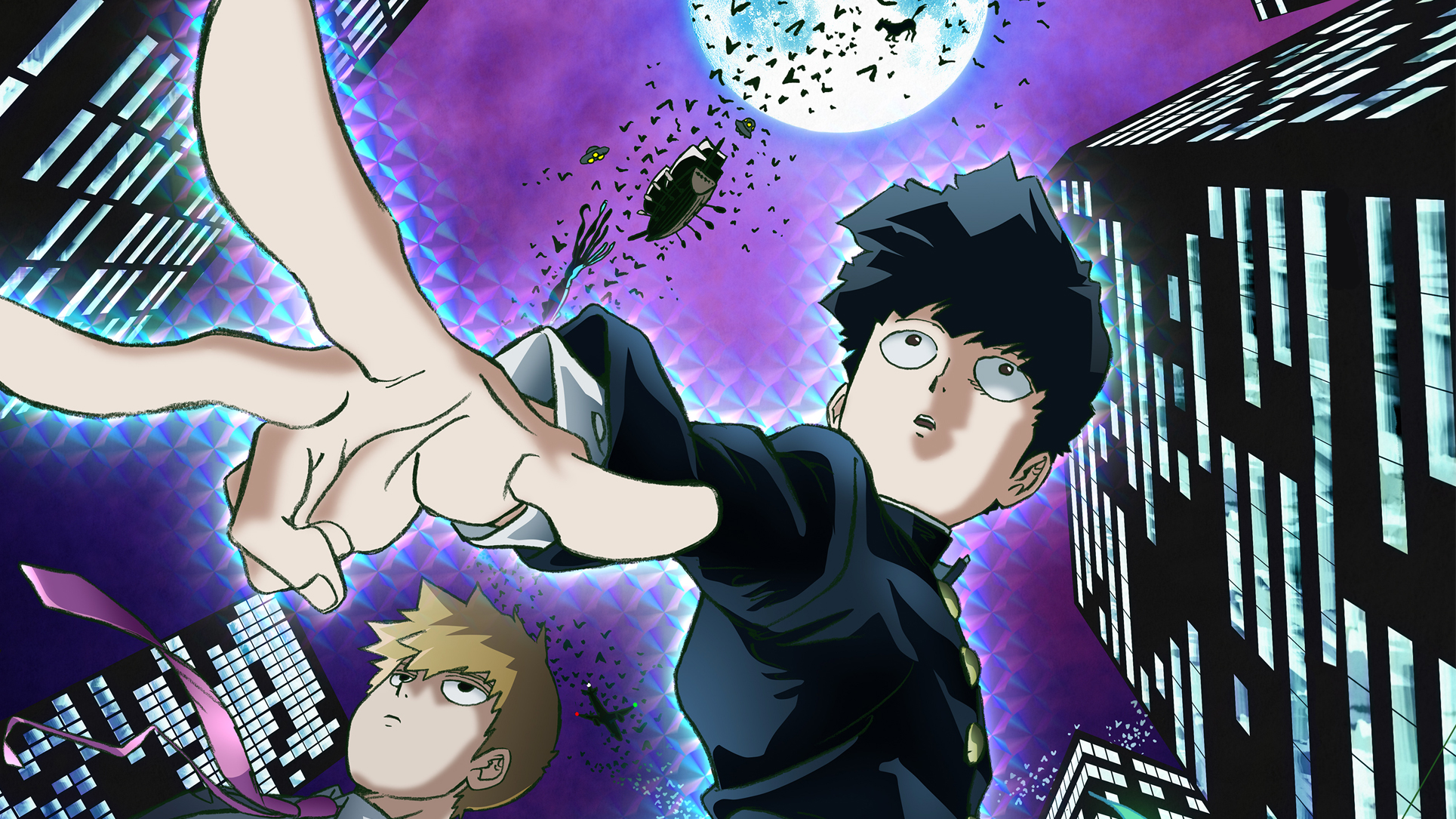 Mob Psycho 100 Gets A Season 2 Cat With Monocle