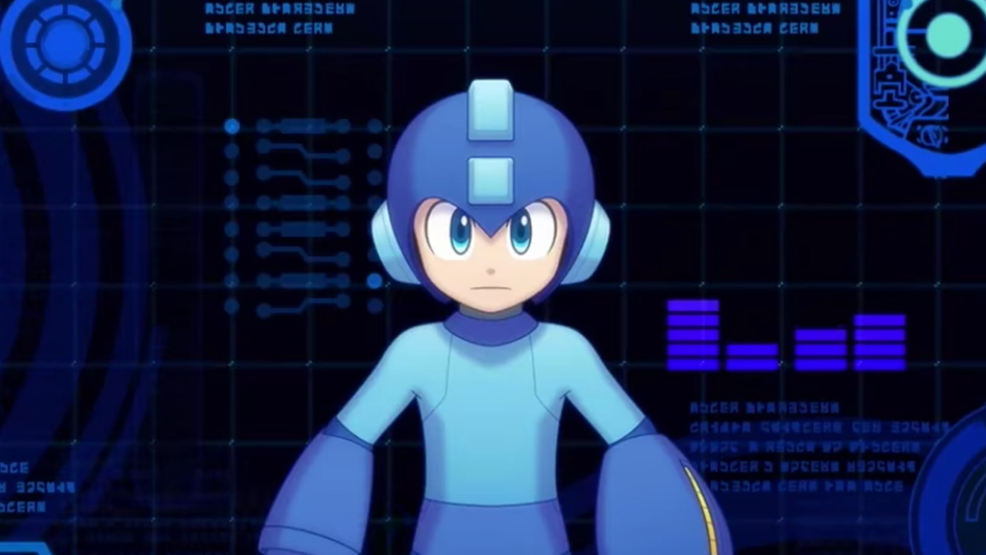 Mega Man 11 Wallpapers | Cat with Monocle
