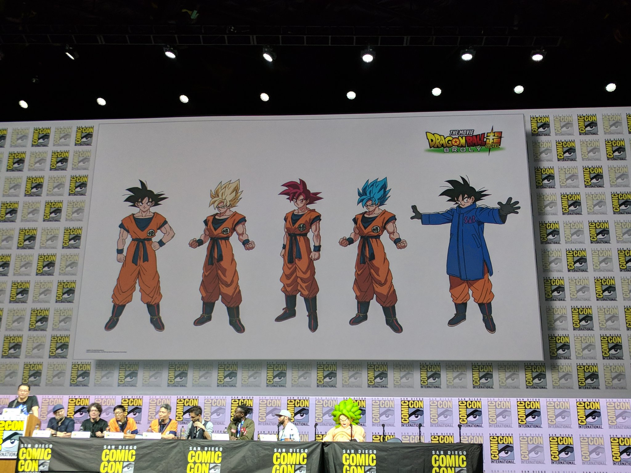 Dragon Ball Super Broly Movie Showcases Character Forms At Sdcc