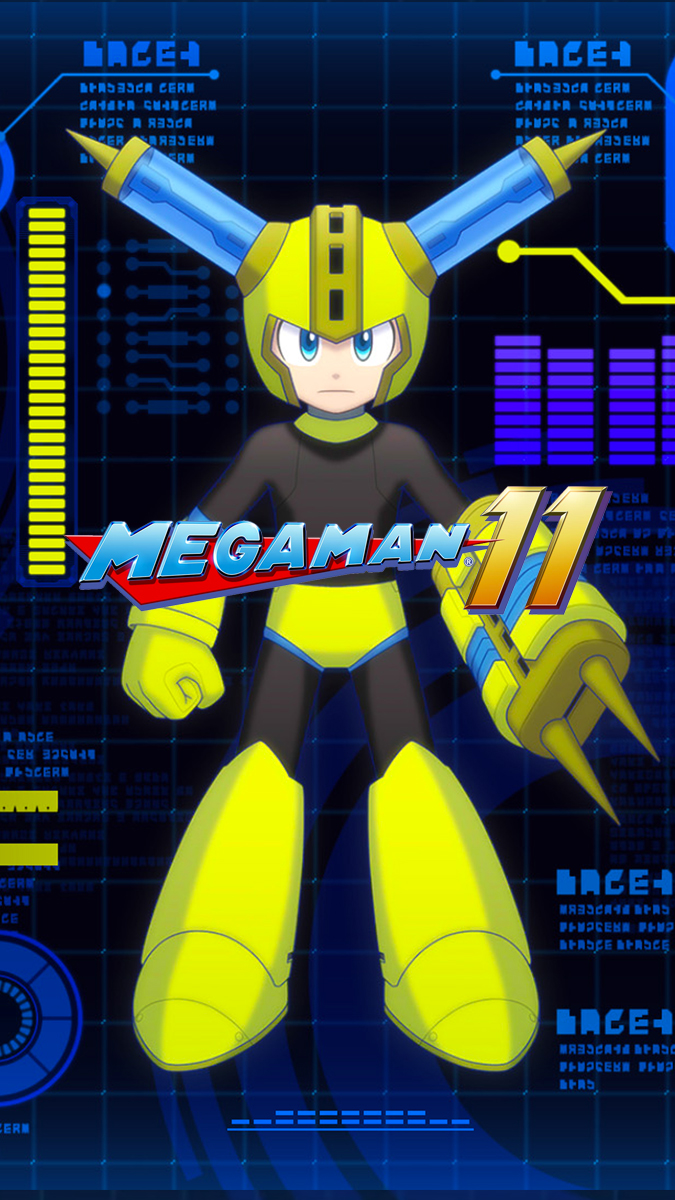 More Mega Man 11 Wallpapers   Cat with Monocle