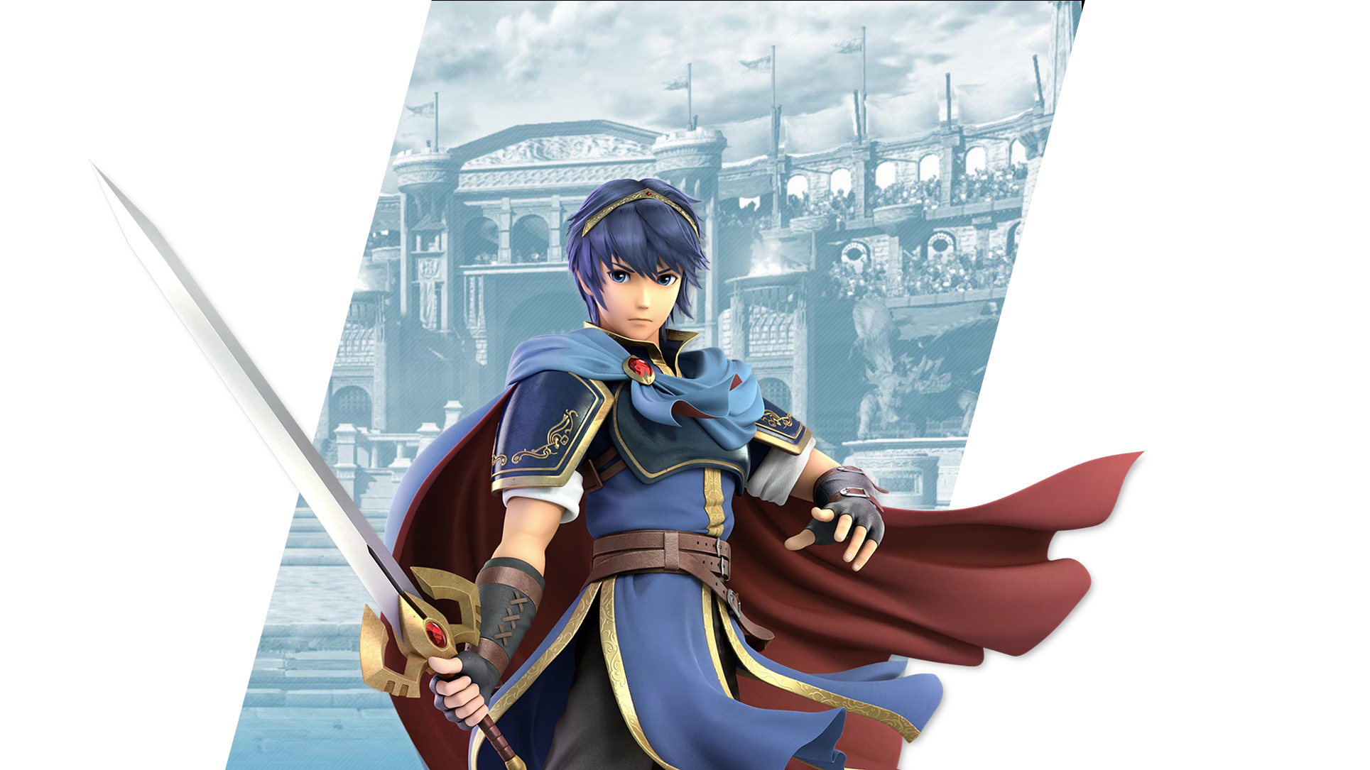 Super Smash Bros Ultimate Marth Wallpapers Cat With Monocle