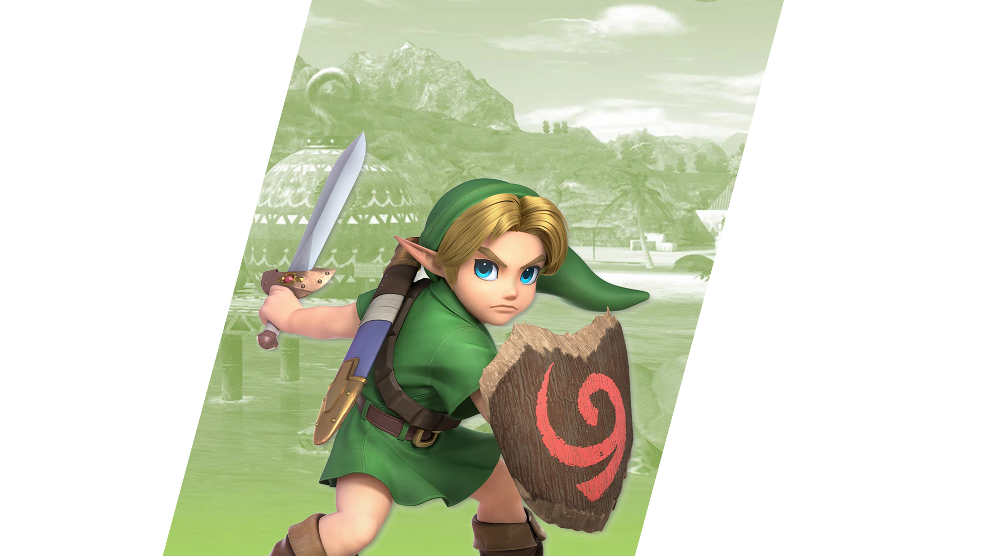 Young Link SSB Super Smash Brothers iphone case