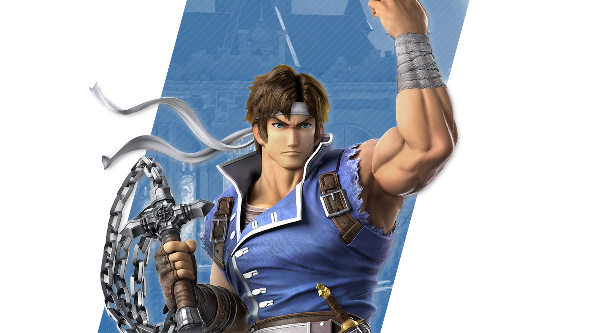 Super Smash Bros Ultimate Richter Wallpapers Cat With Monocle