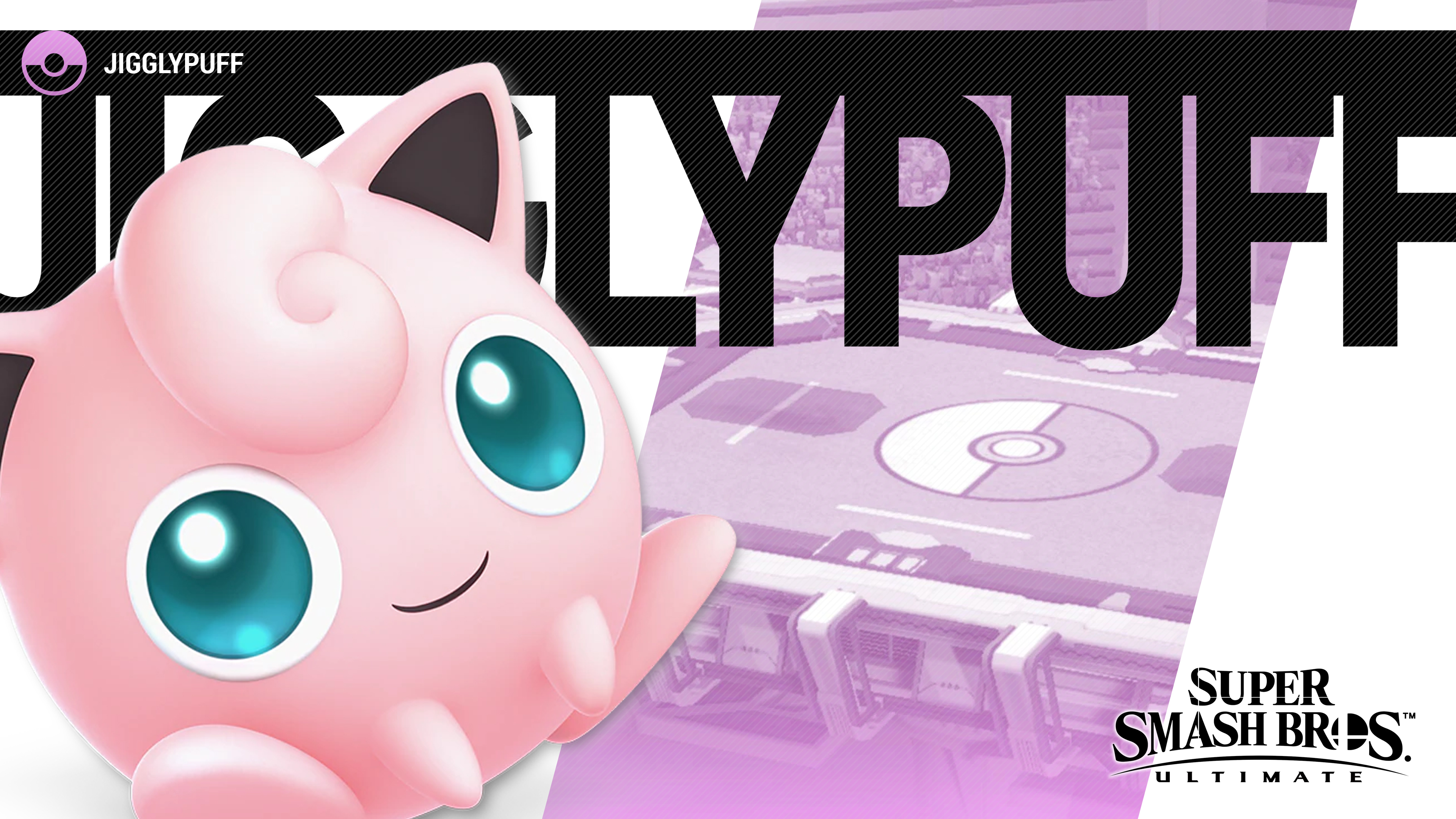 Super Smash Bros Ultimate Jigglypuff Wallpapers Cat With Monocle