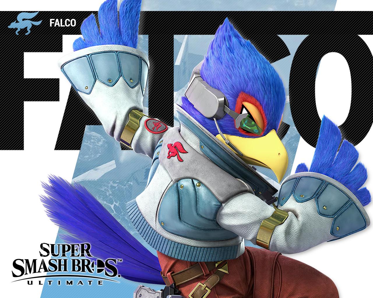 super smash bros ultimate falco wallpapers