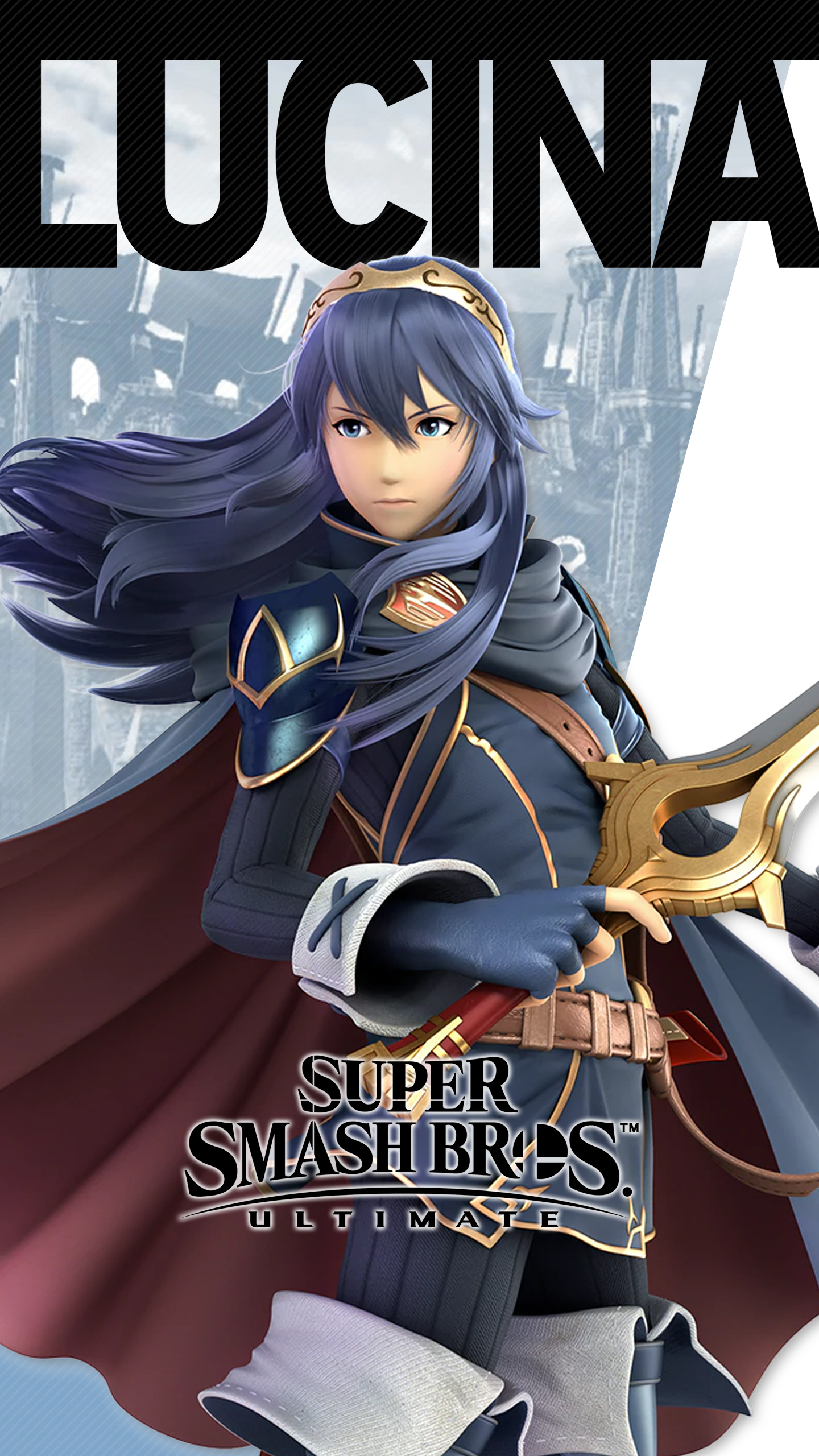 Super Smash Bros Ultimate Lucina Wallpapers Cat With Monocle
