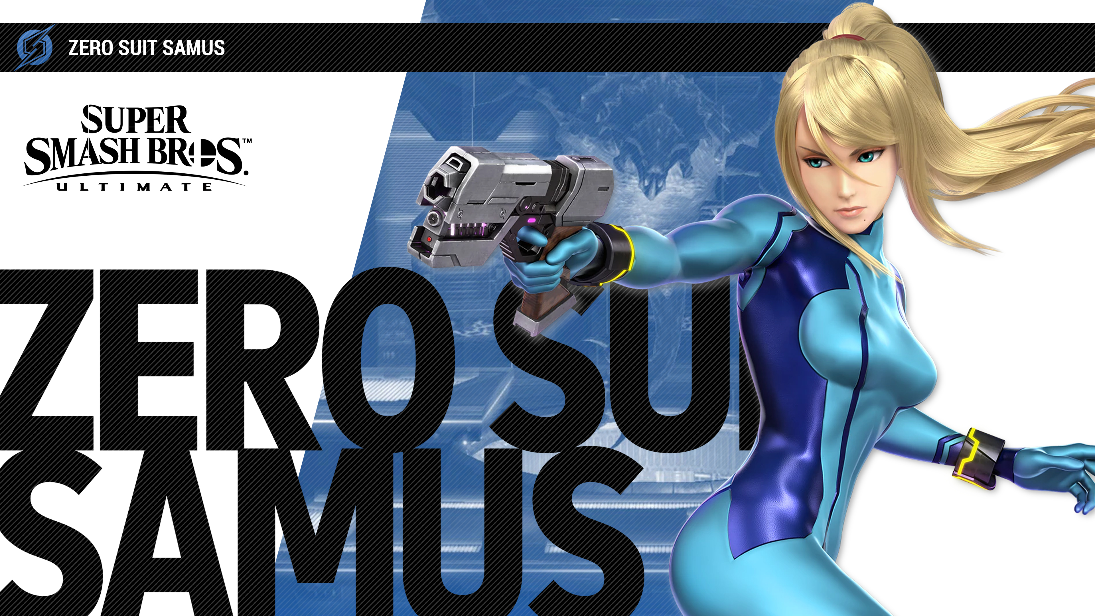 Super Smash Bros Ultimate Zero Suit Samus Wallpapers | Cat