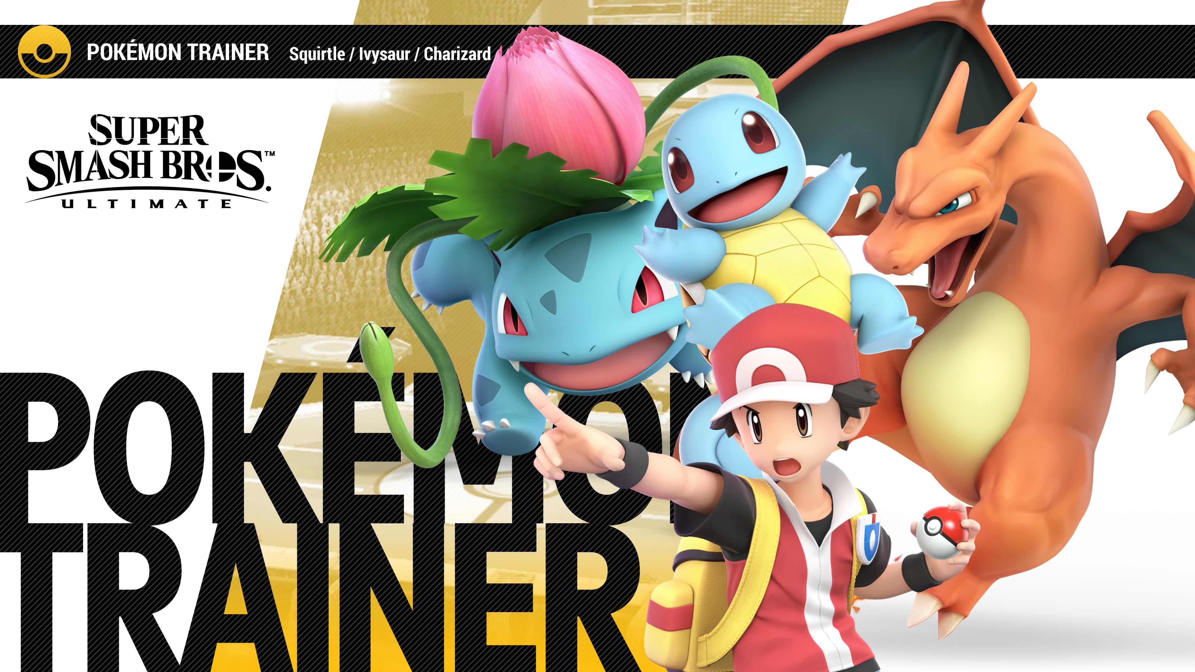 Super Smash Bros Ultimate Pokemon Trainer Wallpapers   Cat ...