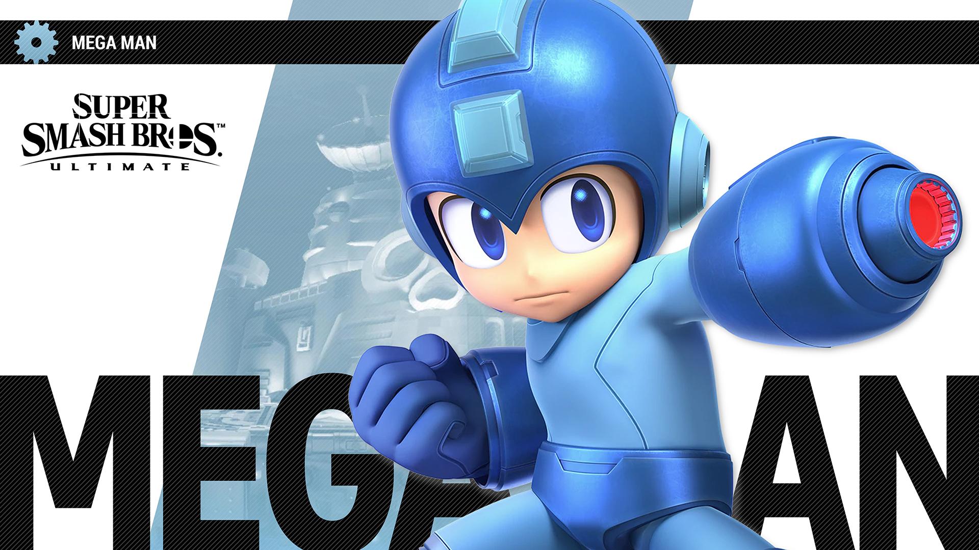 Super Smash Bros Ultimate Mega Man Wallpapers Cat With