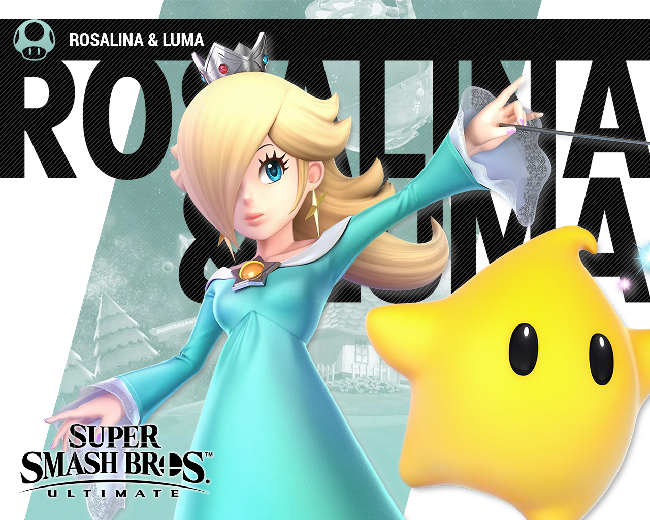 Super Smash Bros Ultimate Rosalina And Luma Wallpapers Cat With Monocle