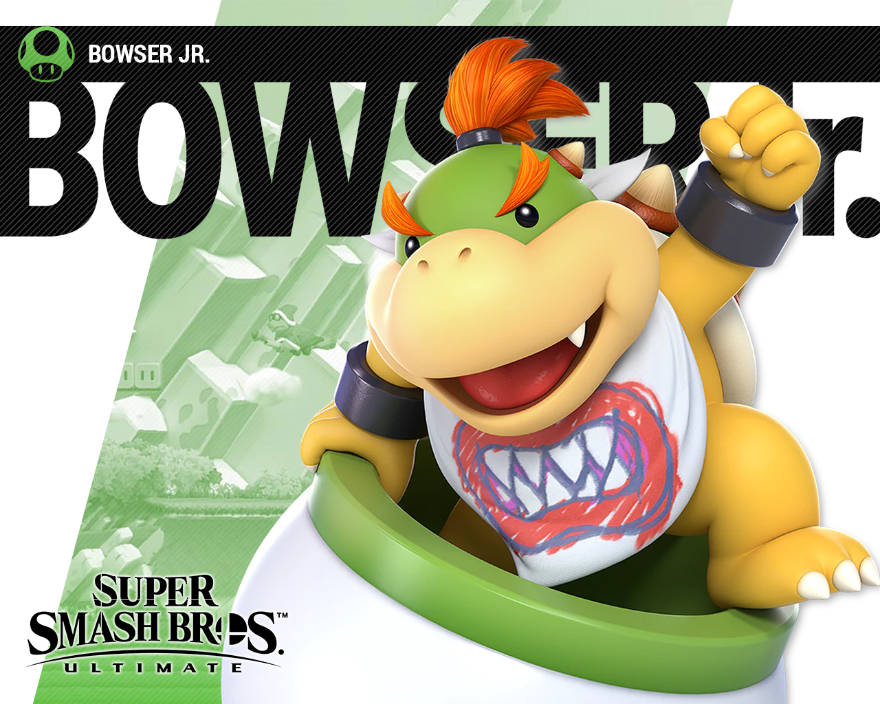 Super Smash Bros Ultimate Bowser Jr Wallpapers Cat With