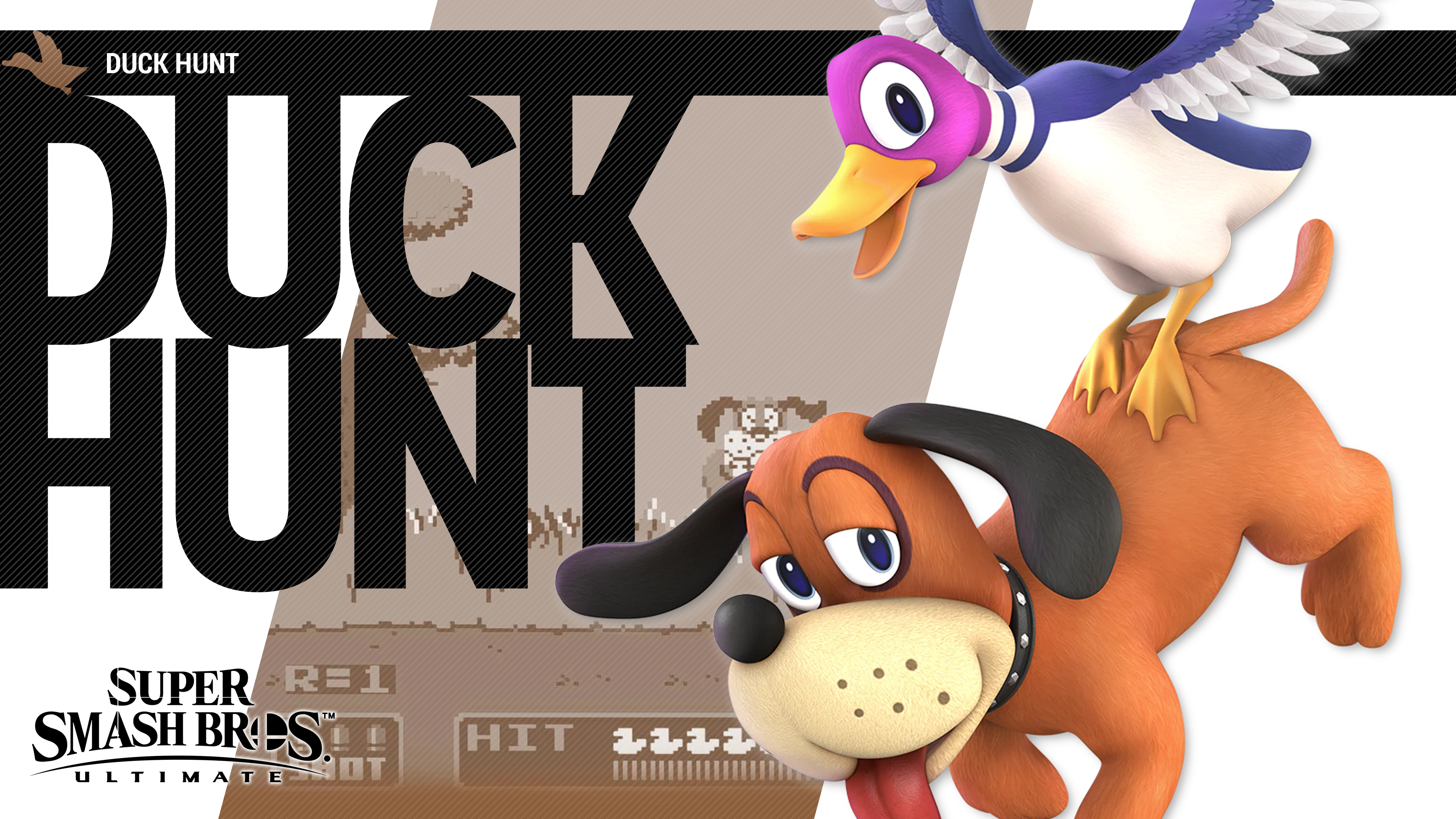Super Smash Bros Ultimate Duck Hunt Wallpapers Cat With Monocle