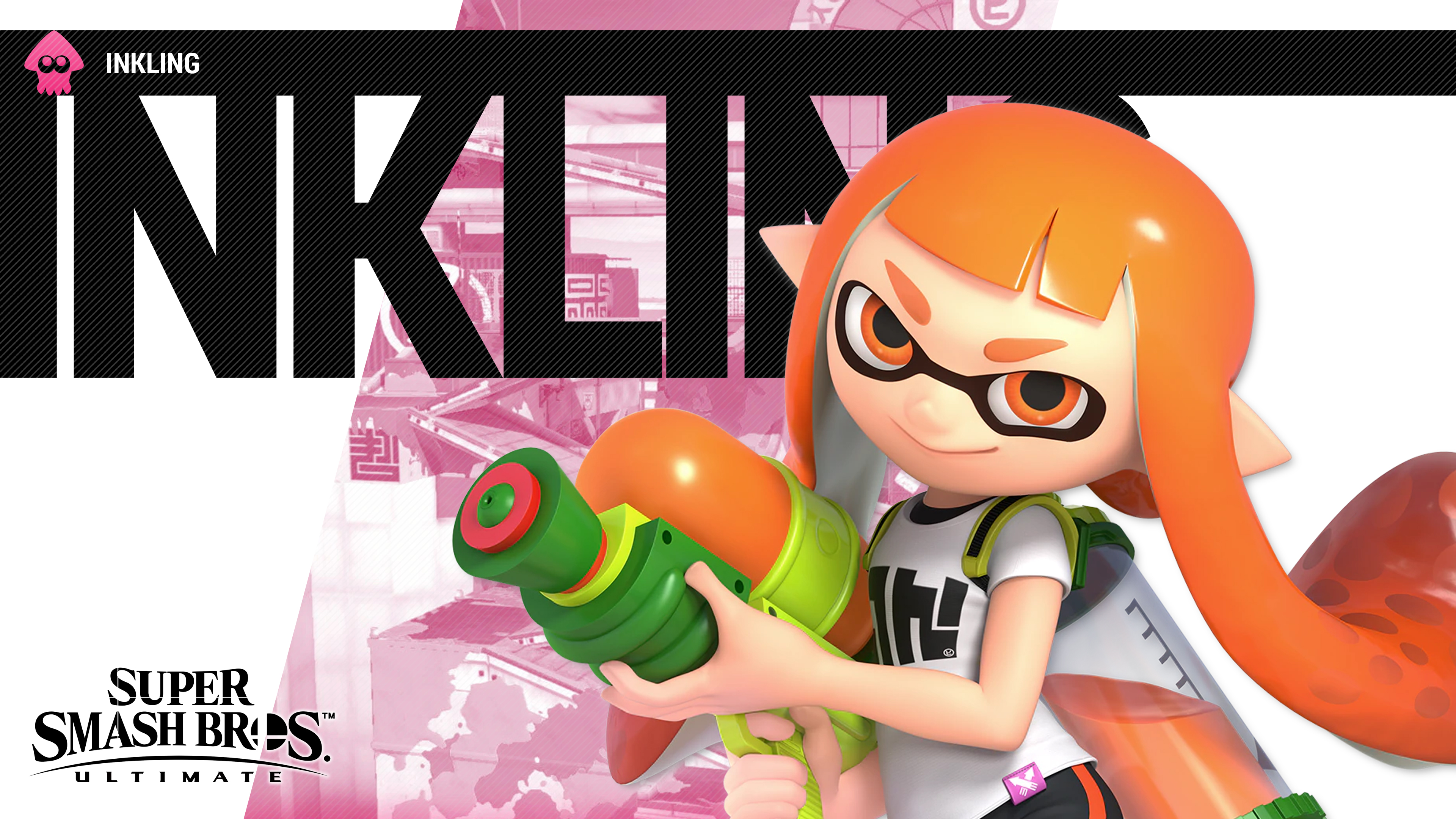 Super Smash Bros Ultimate Inkling Wallpapers Cat With Monocle
