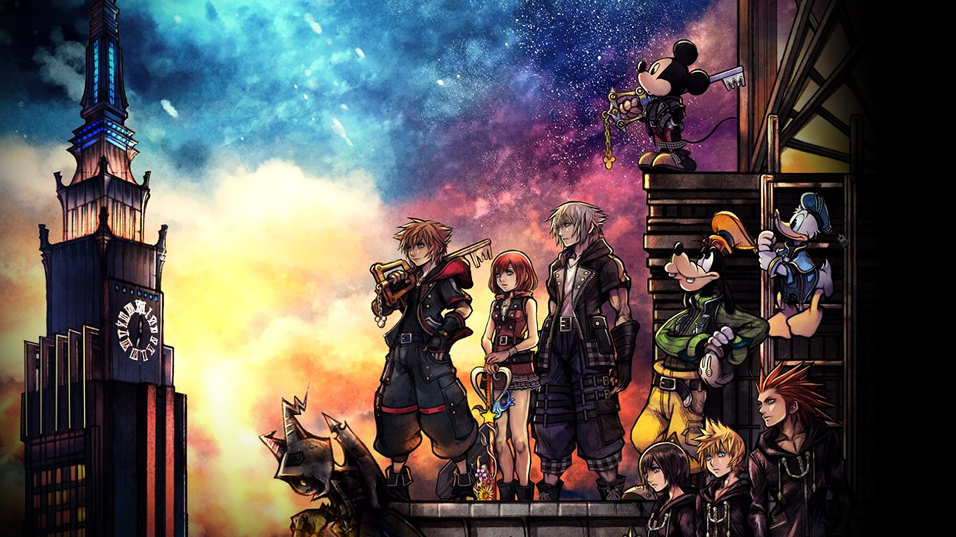 Kingdom Hearts Iii Wallpaper Cover Art Wallpaper Cat With Monocle
