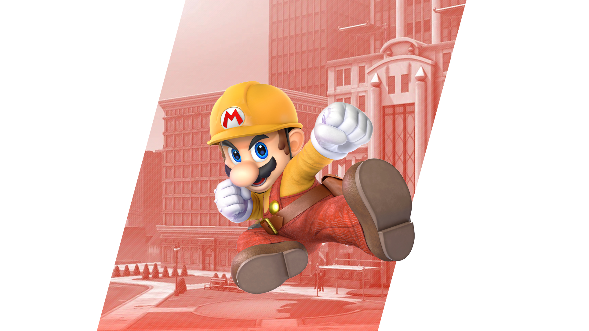 Super Smash Bros Ultimate Mario Builder Wallpapers Cat With Monocle