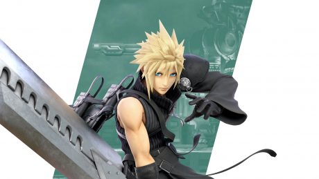 Super Smash Bros Ultimate Cloud Wallpapers Cat With Monocle