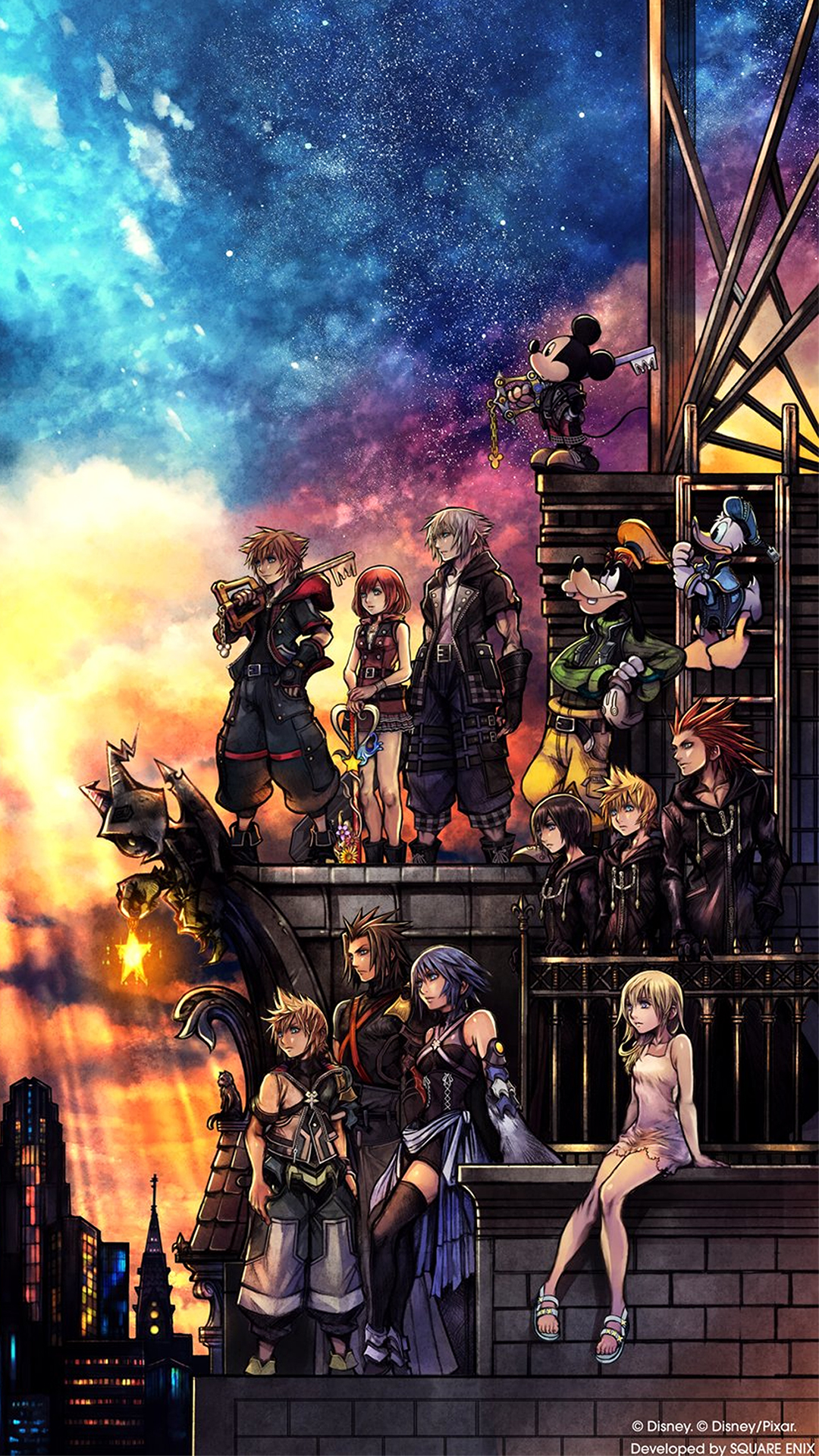 Kingdom Hearts Iii Wallpaper Cover Art Wallpaper Cat