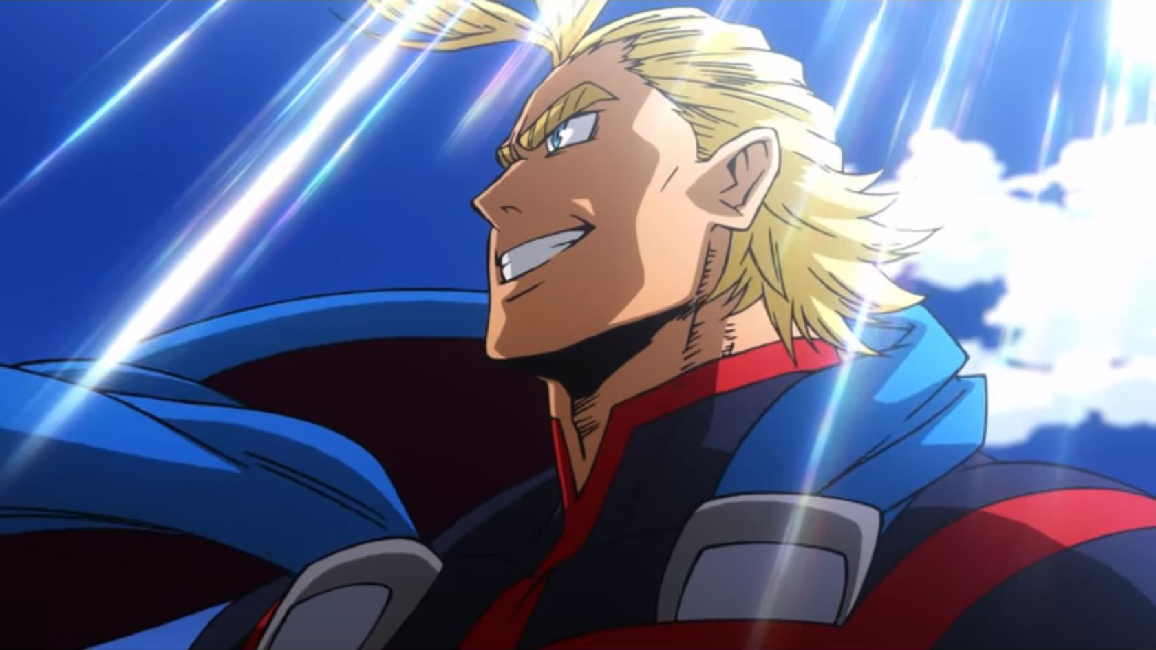 My Hero Academia Movie Two Heroes All Might Young Cat With Monocle