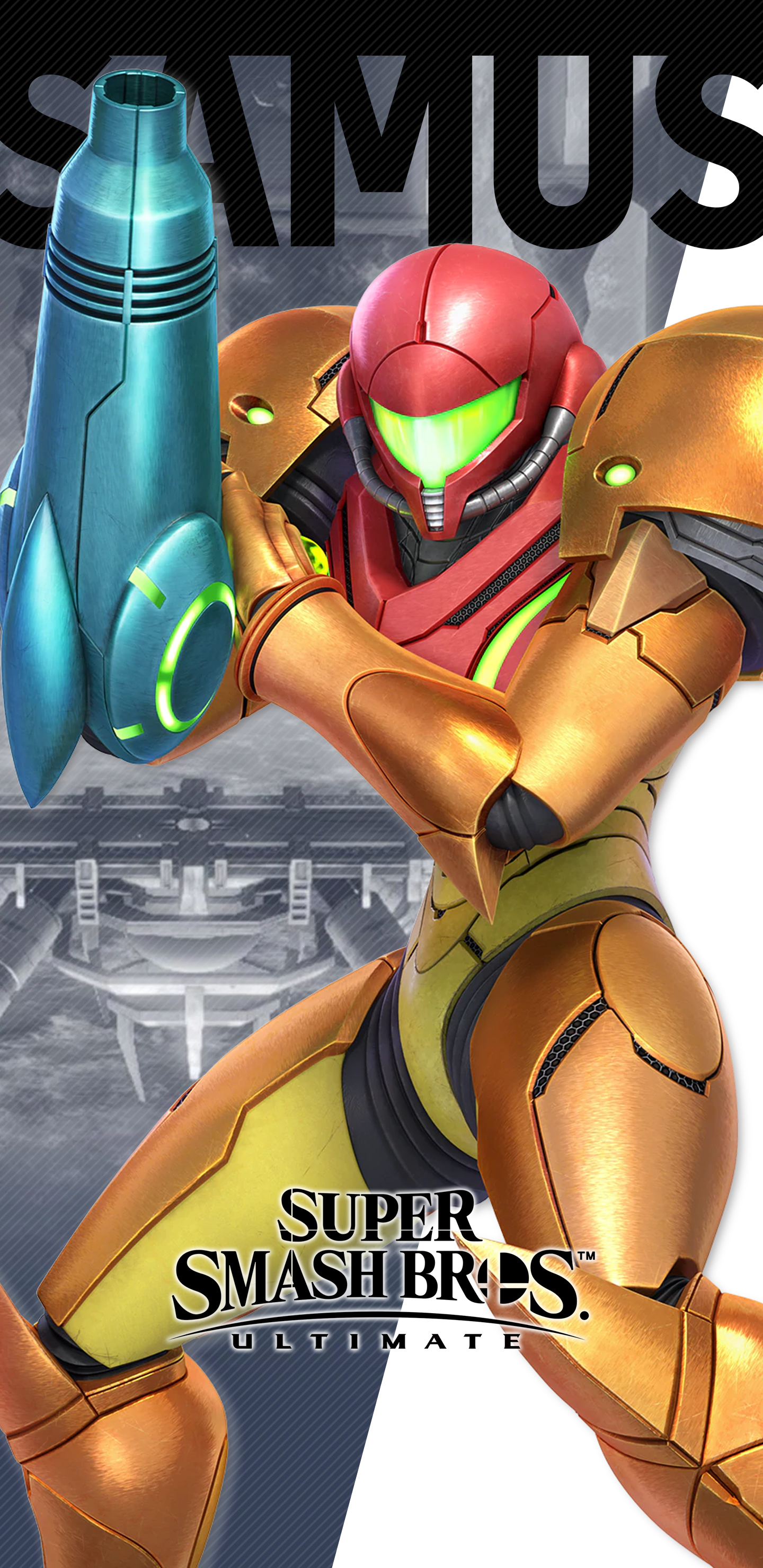 Super Smash Bros Ultimate Samus Wallpapers Cat With Monocle