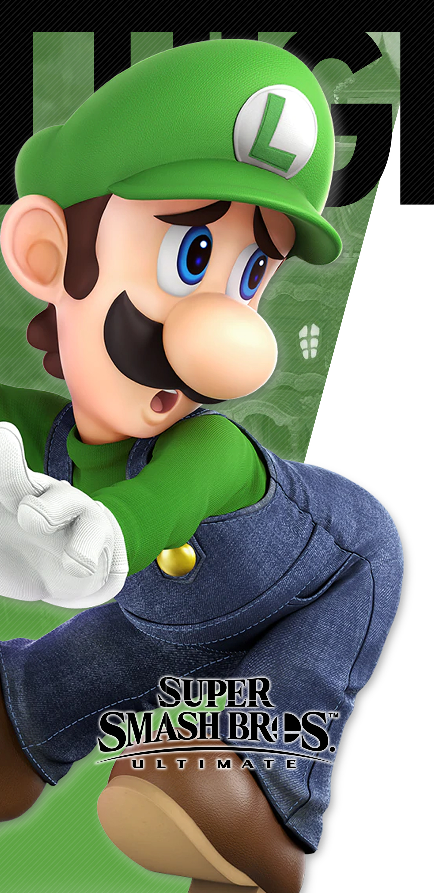 Super Smash Bros Ultimate Luigi Wallpapers Cat With Monocle