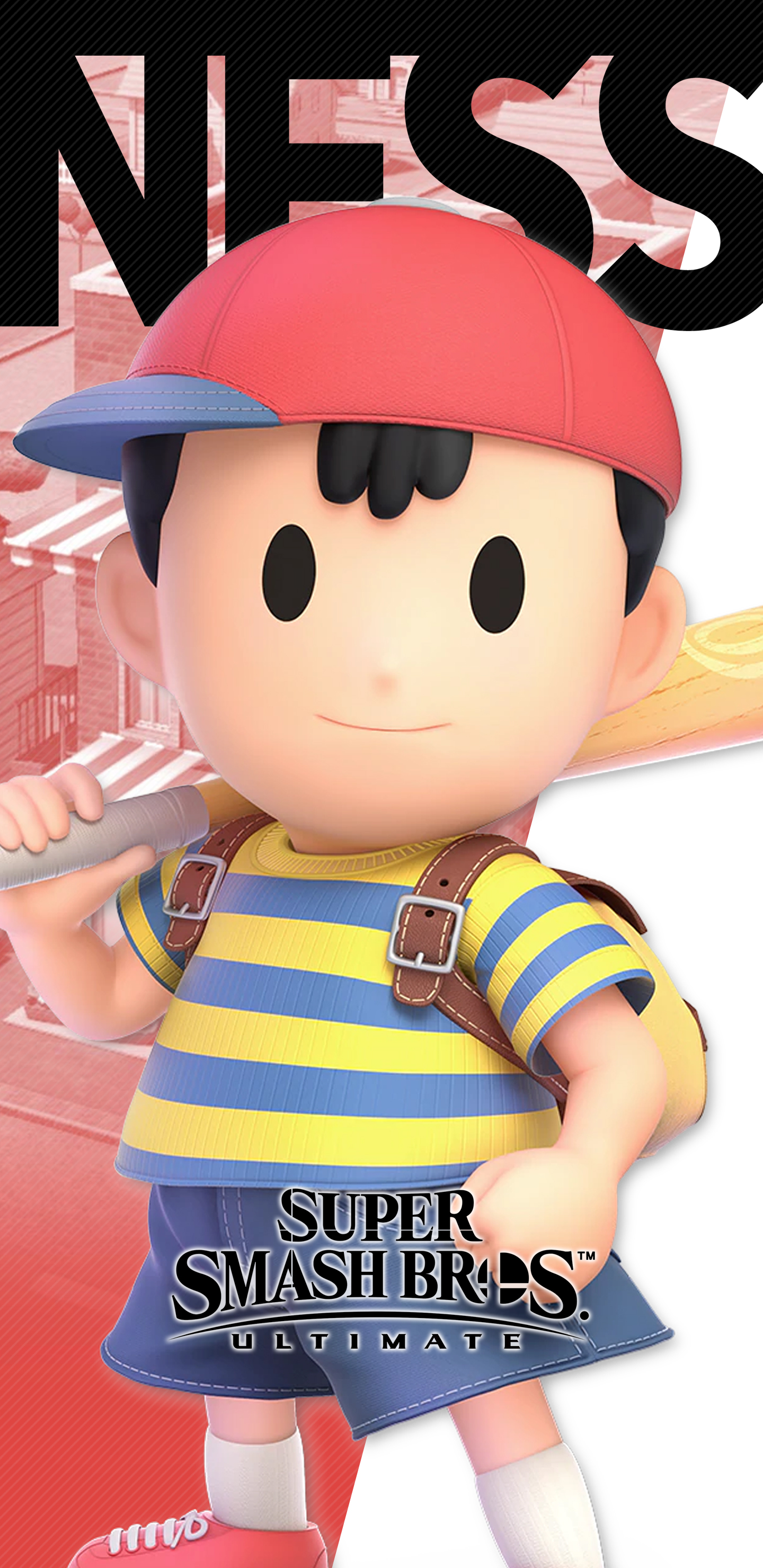 Super Smash Bros Ultimate Ness Wallpapers Cat With Monocle