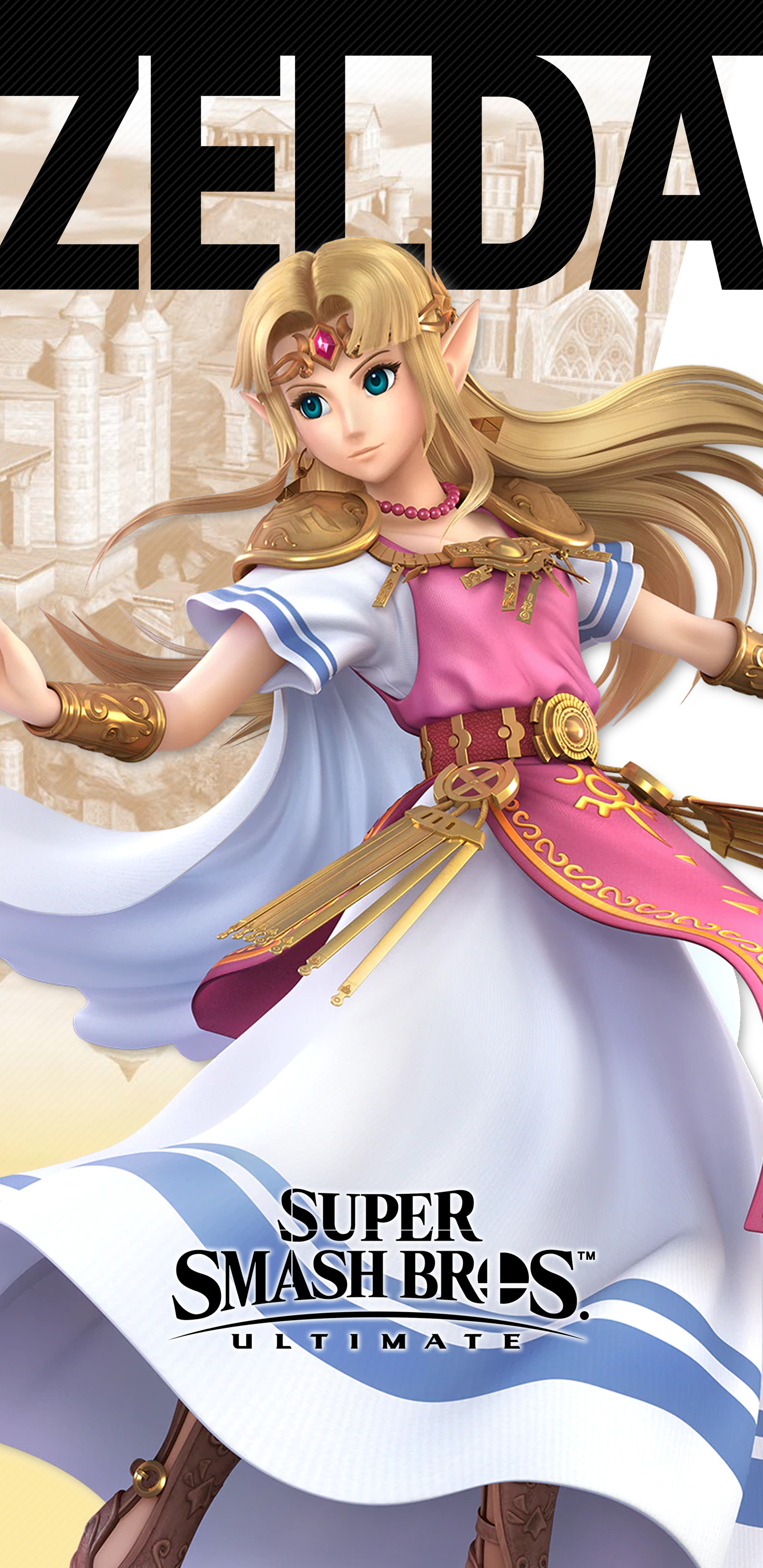 super smash bros ultimate zelda