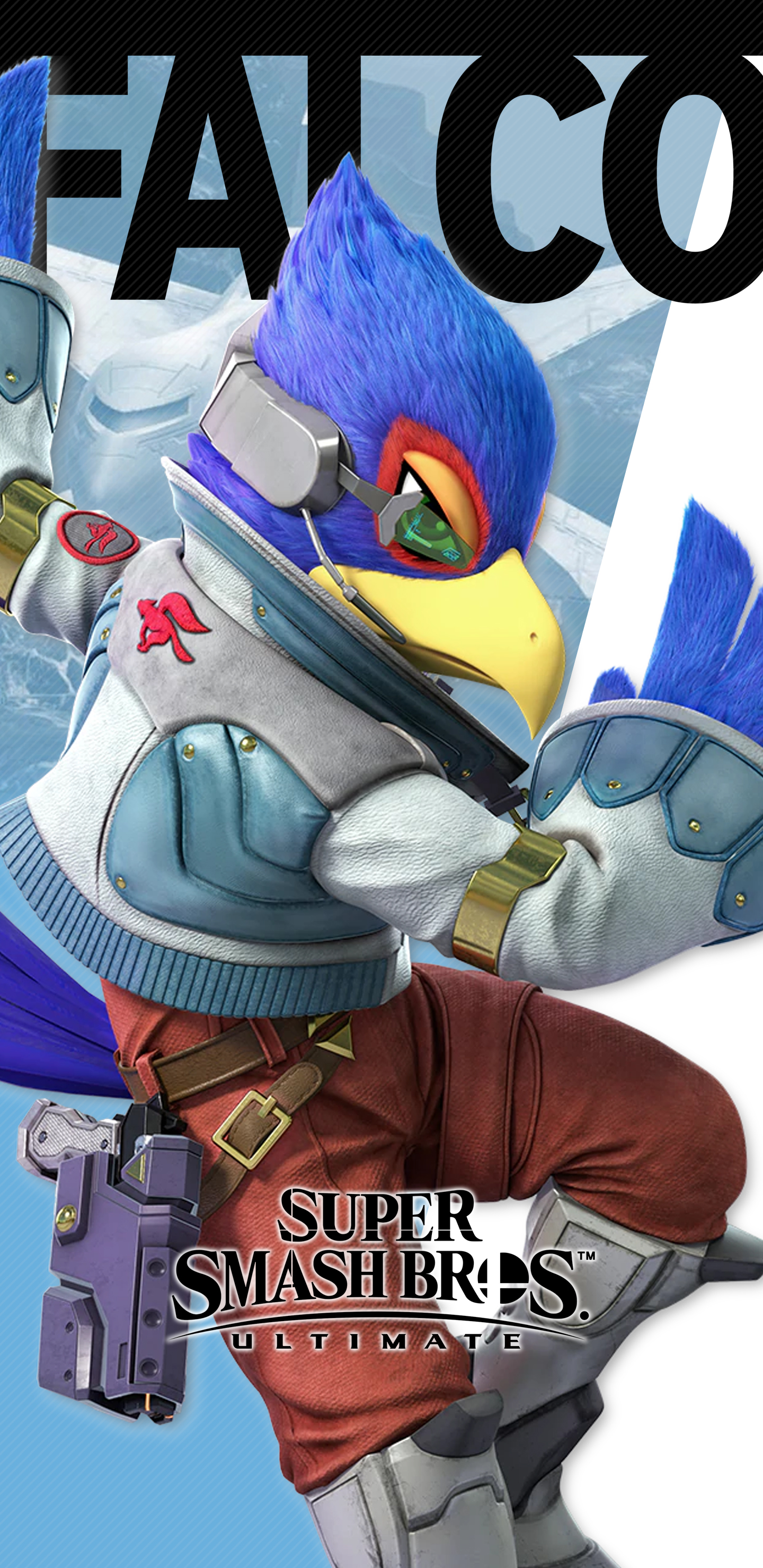 Super Smash Bros Ultimate Falco Wallpapers Cat With Monocle