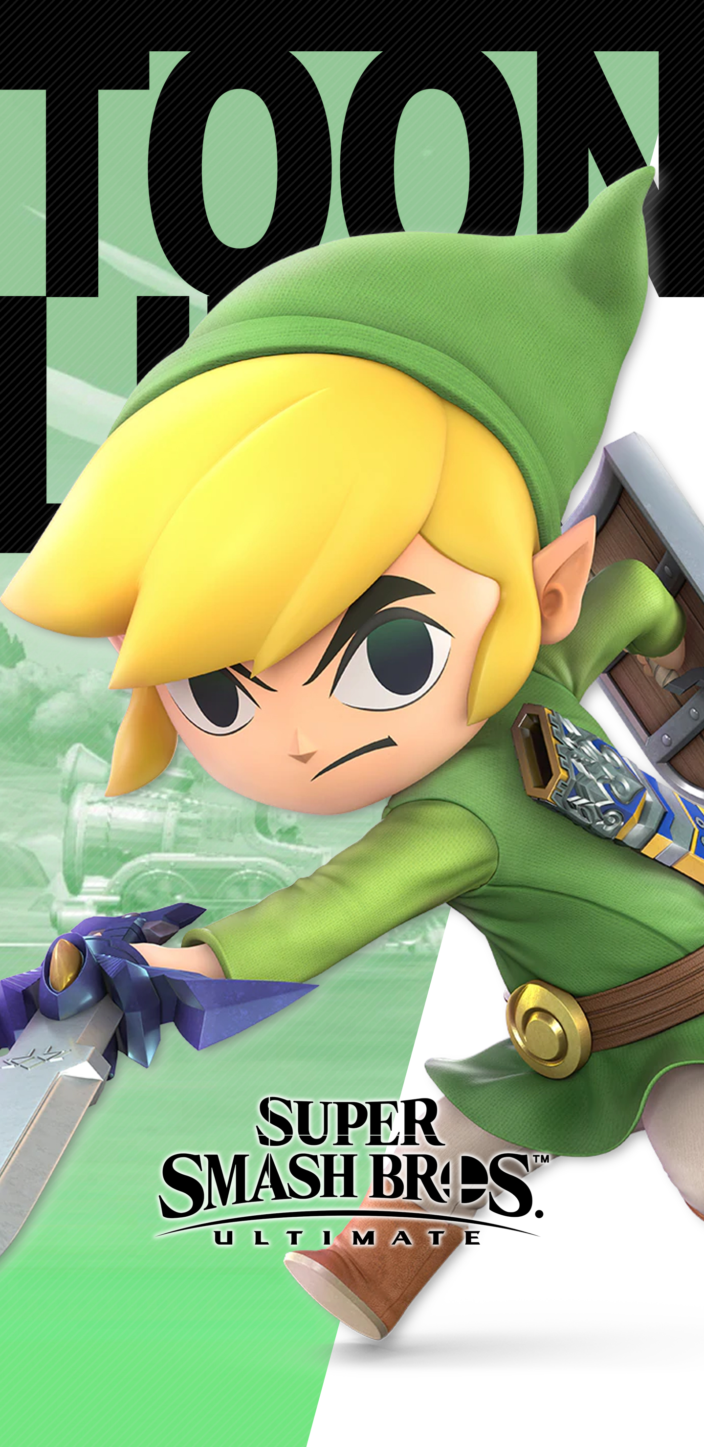 Super Smash Bros Ultimate Toon Link Wallpapers Cat With Monocle