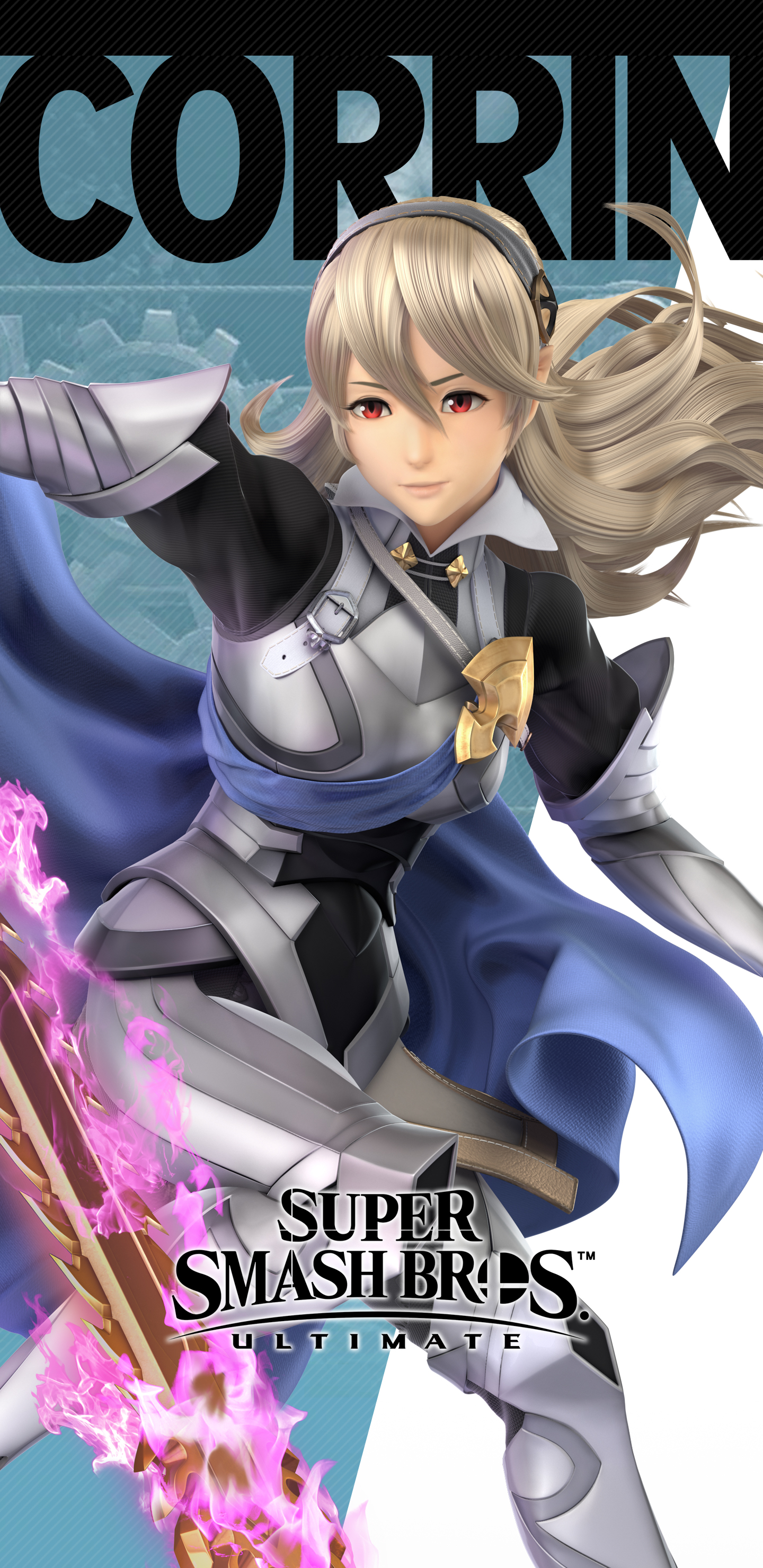 Super Smash Bros Ultimate Female Corrin Wallpapers Cat With Monocle