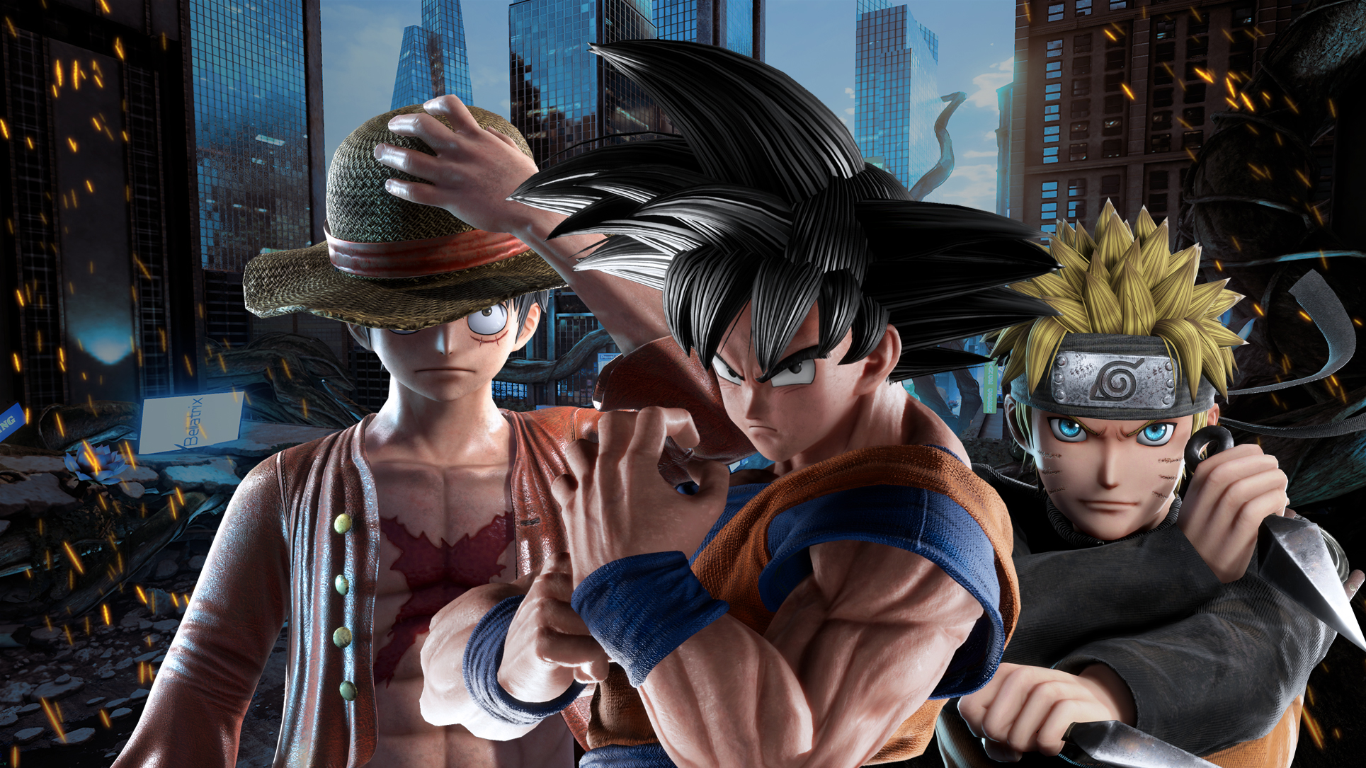 Jump Force Wallpapers Cat With Monocle