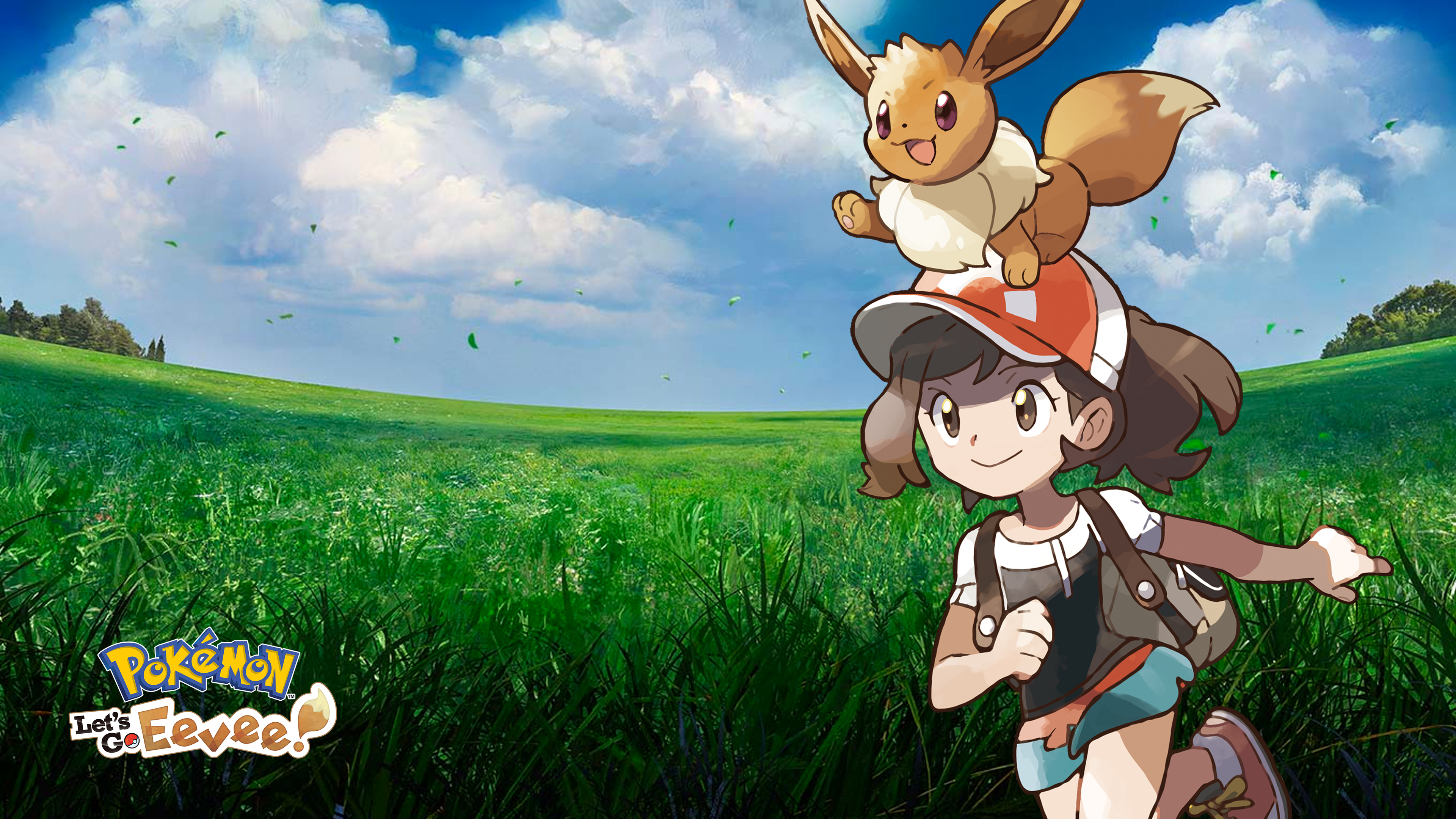 Pokemon Let S Go Eevee V1 Wallpapers Cat With Monocle