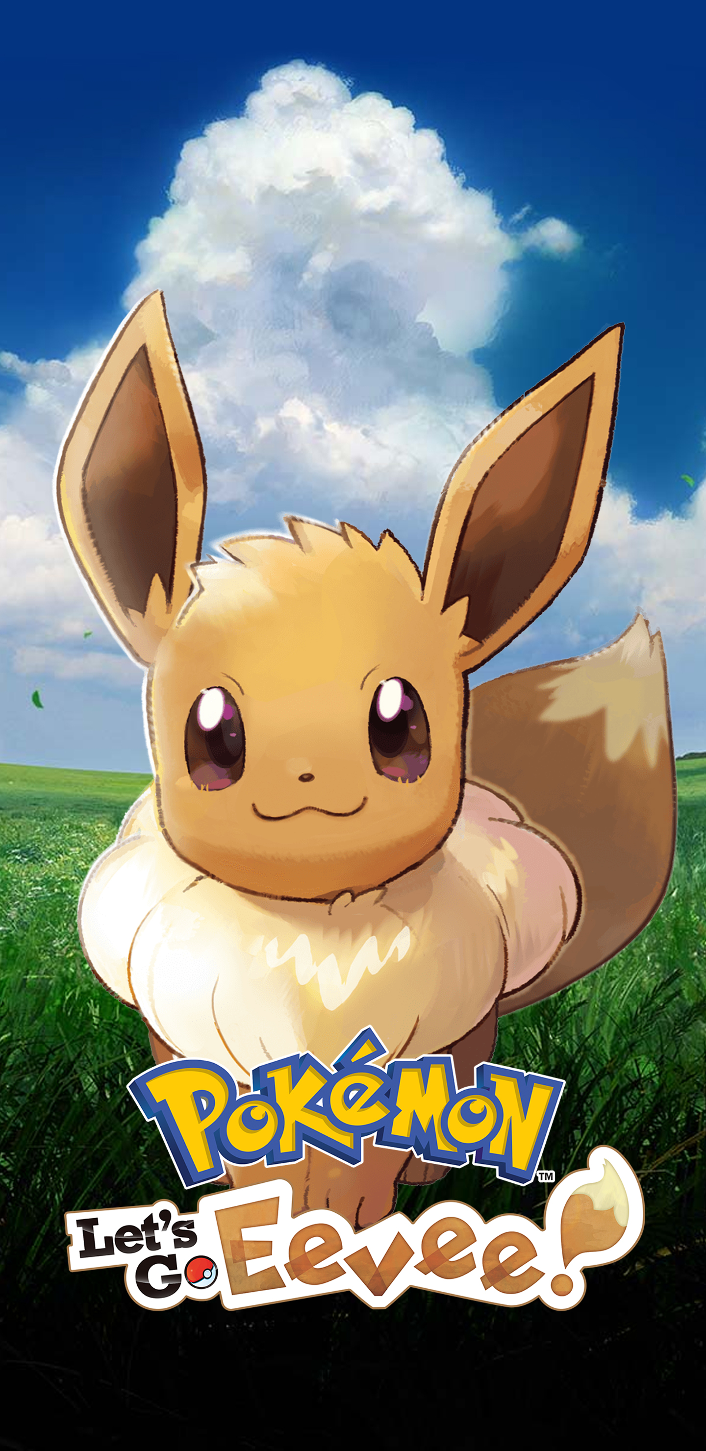 Pokemon Let S Go Eevee V2 Wallpapers Cat With Monocle