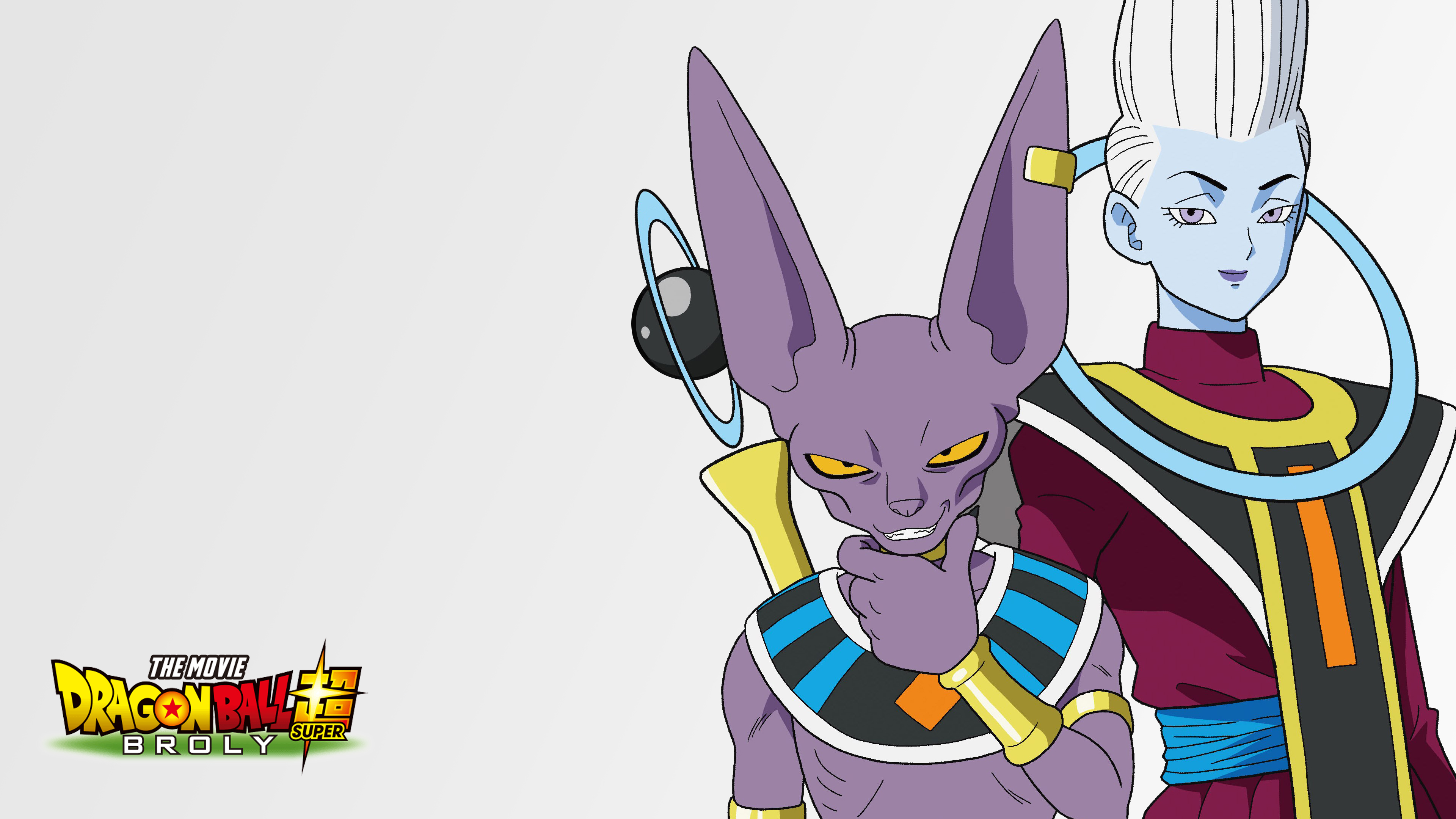 Dragon Ball Super Broly Beerus And Whis Wallpapers Cat With Monocle