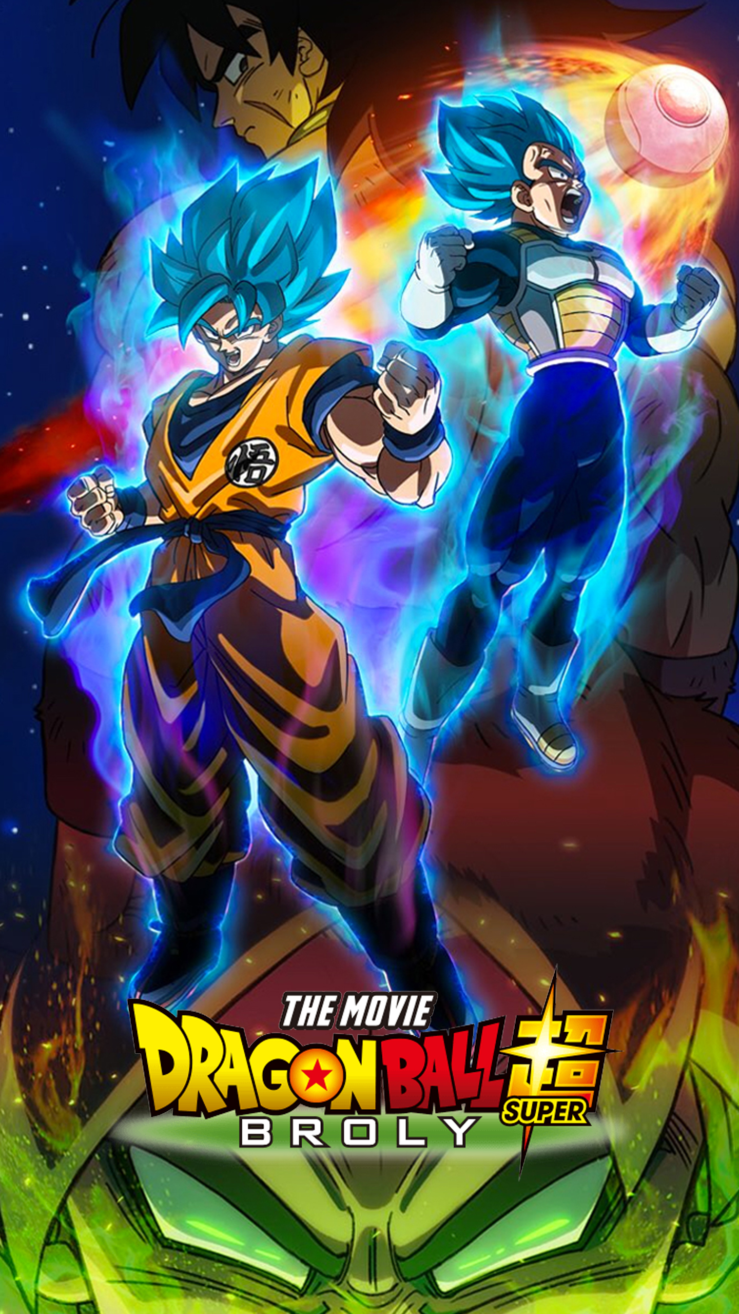 Dragon Ball Super Broly Promo Art Wallpapers Cat With