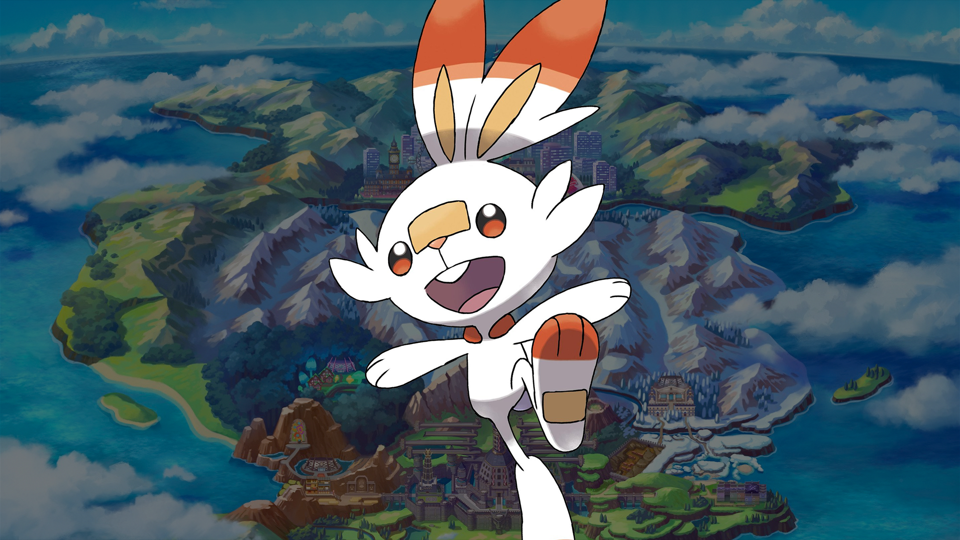 Pokemon Sword and Shield Scorbunny Wallpapers   Cat with ...