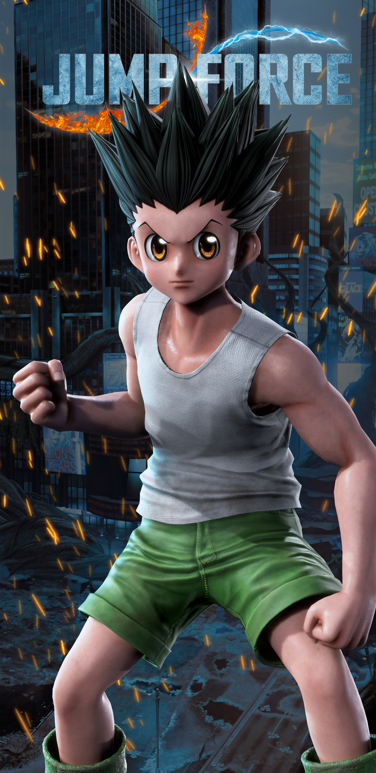 Jump Force Gon Wallpapers Cat With Monocle
