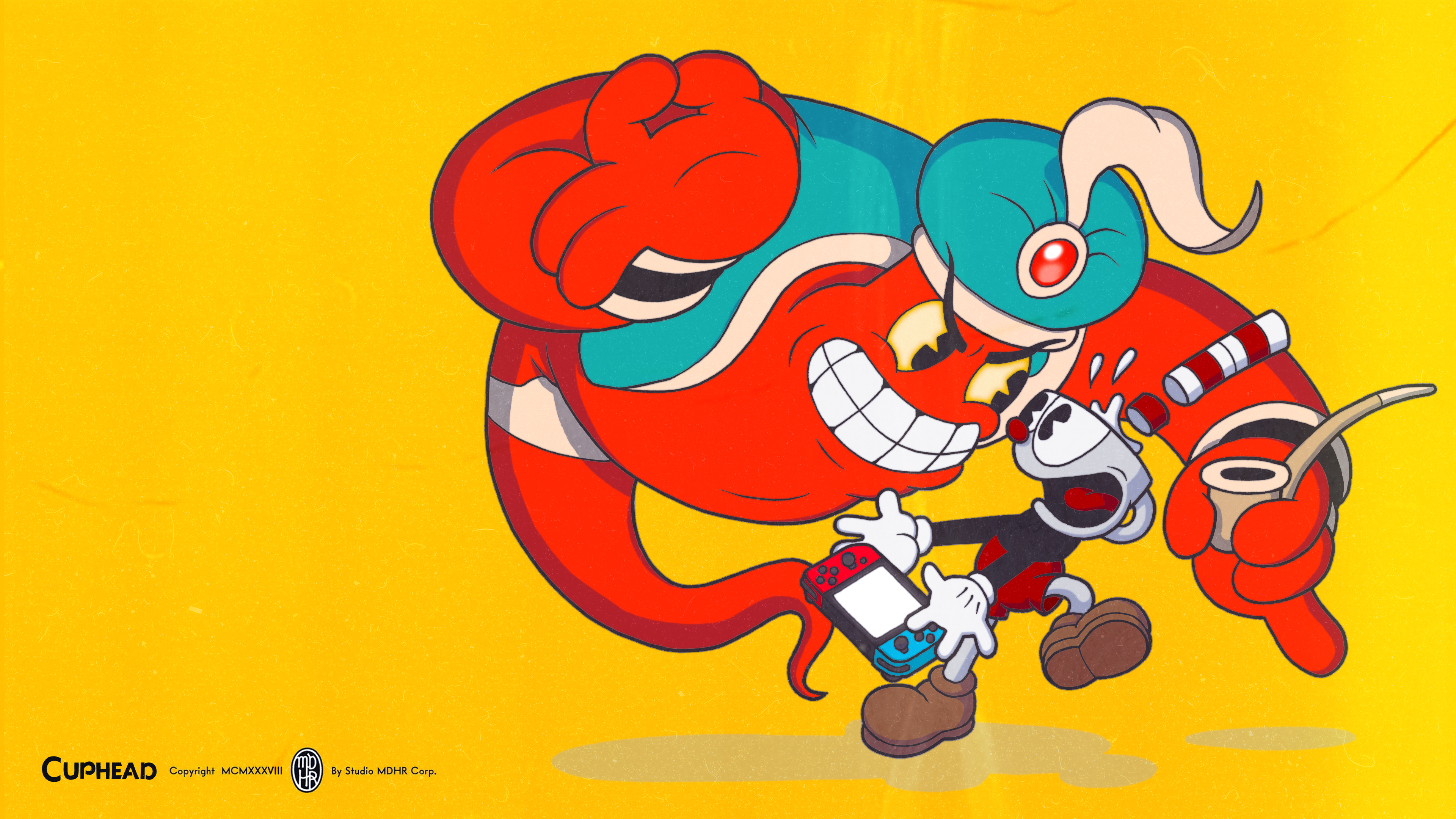 Cuphead Djimmi the Great Wallpaper
