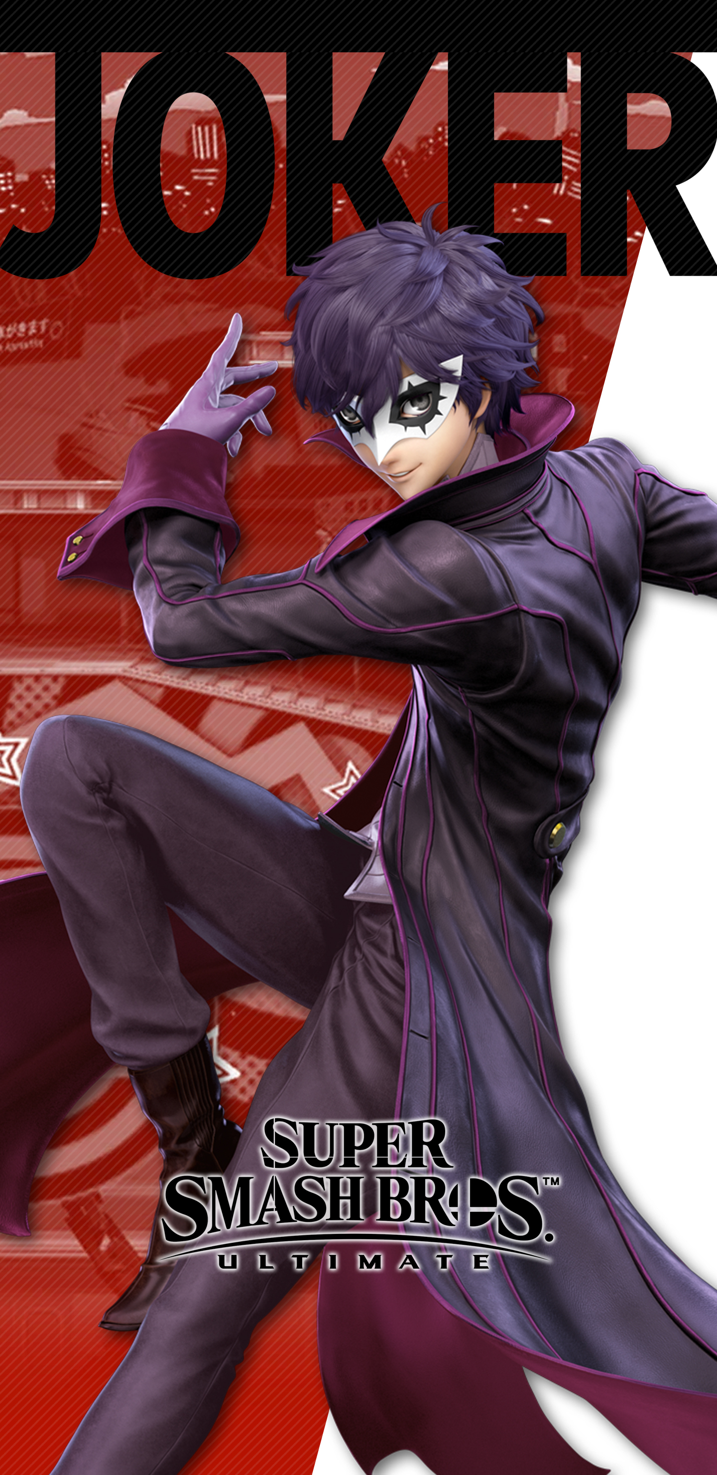 Super Smash Bros Ultimate Joker Costume 2 Wallpapers Cat With