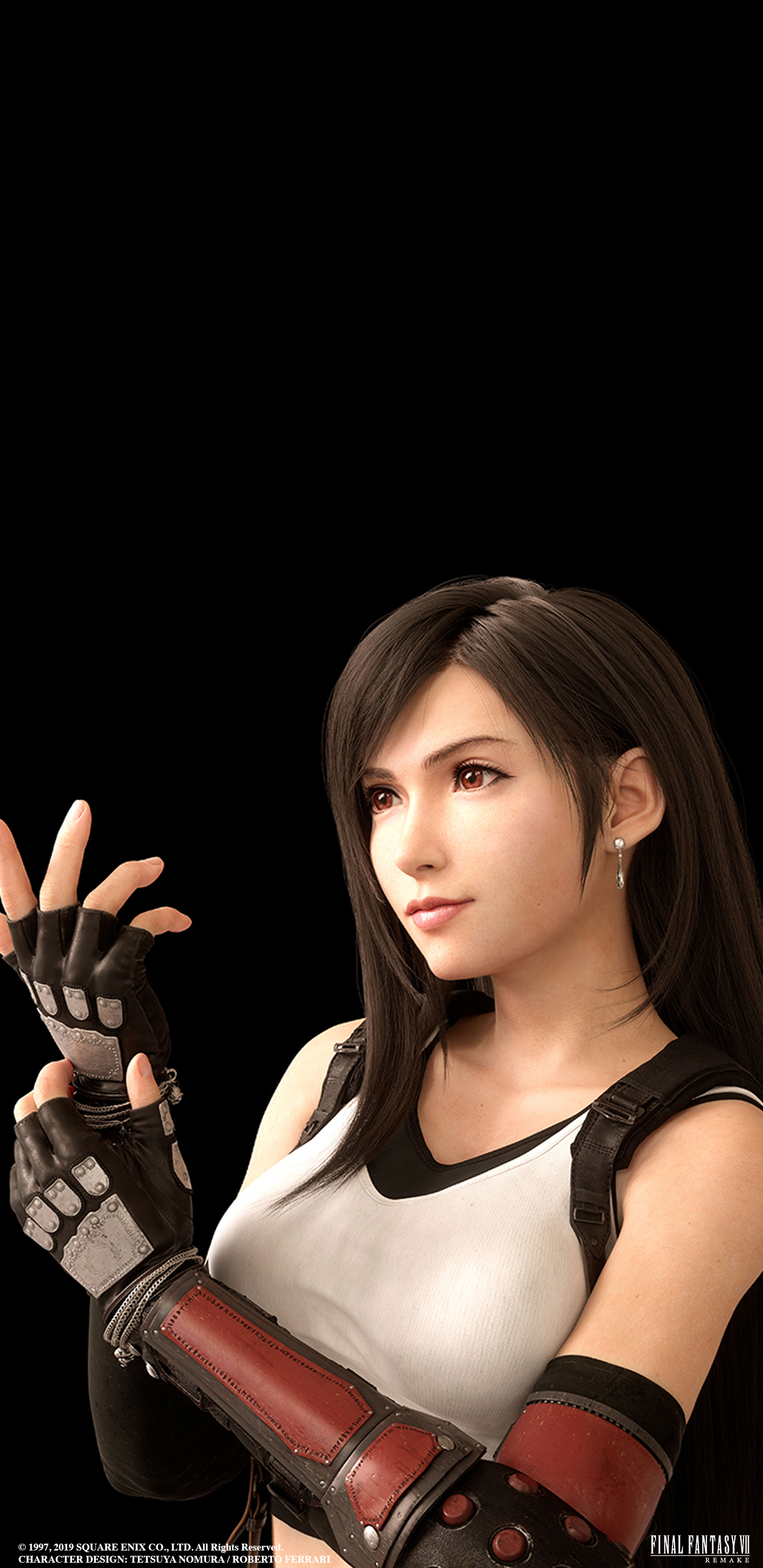 Final Fantasy Vii Remake Tifa Wallpaper Cat With Monocle