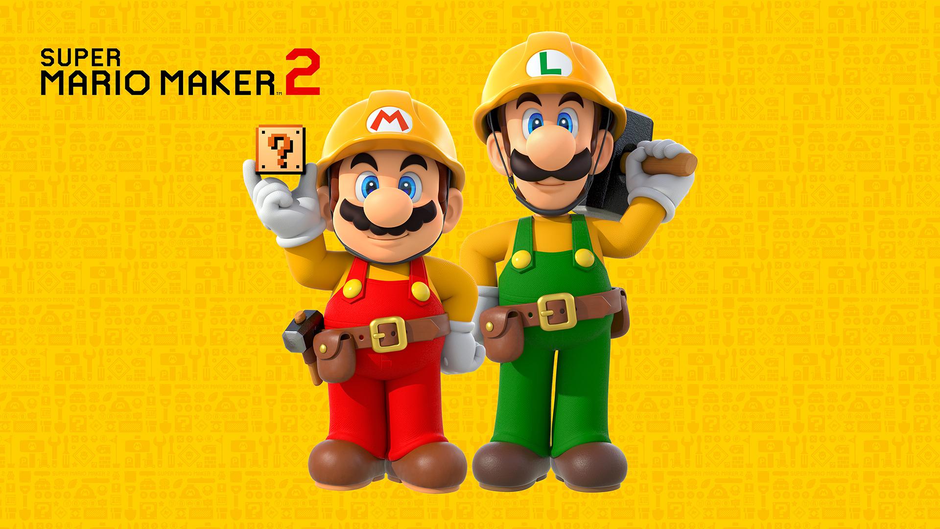 Super Mario Maker 2 Super Mario Bros Version 3 Wallpaper