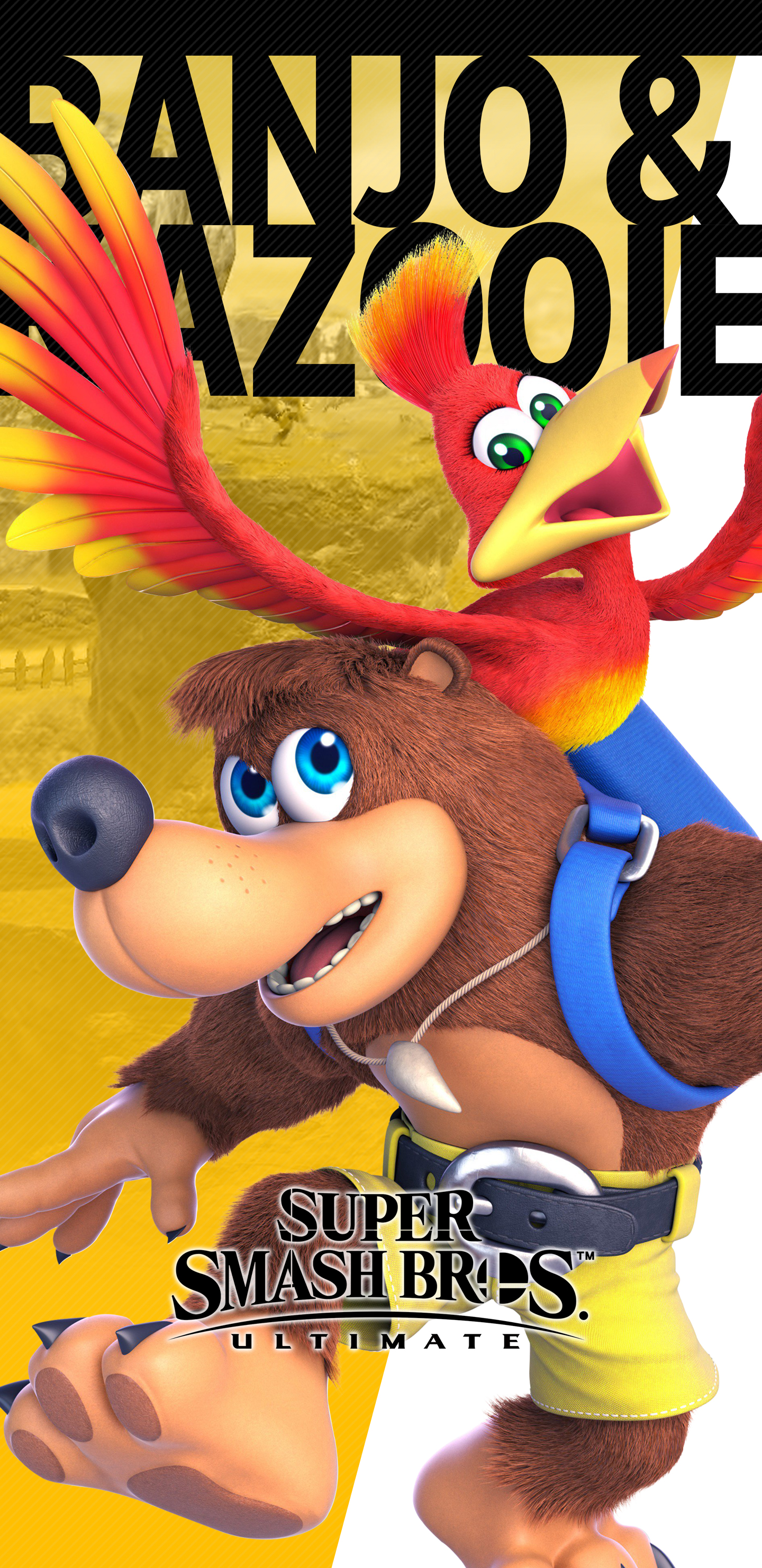 Super Smash Bros Ultimate Banjo Kazooie Wallpapers Unofficial