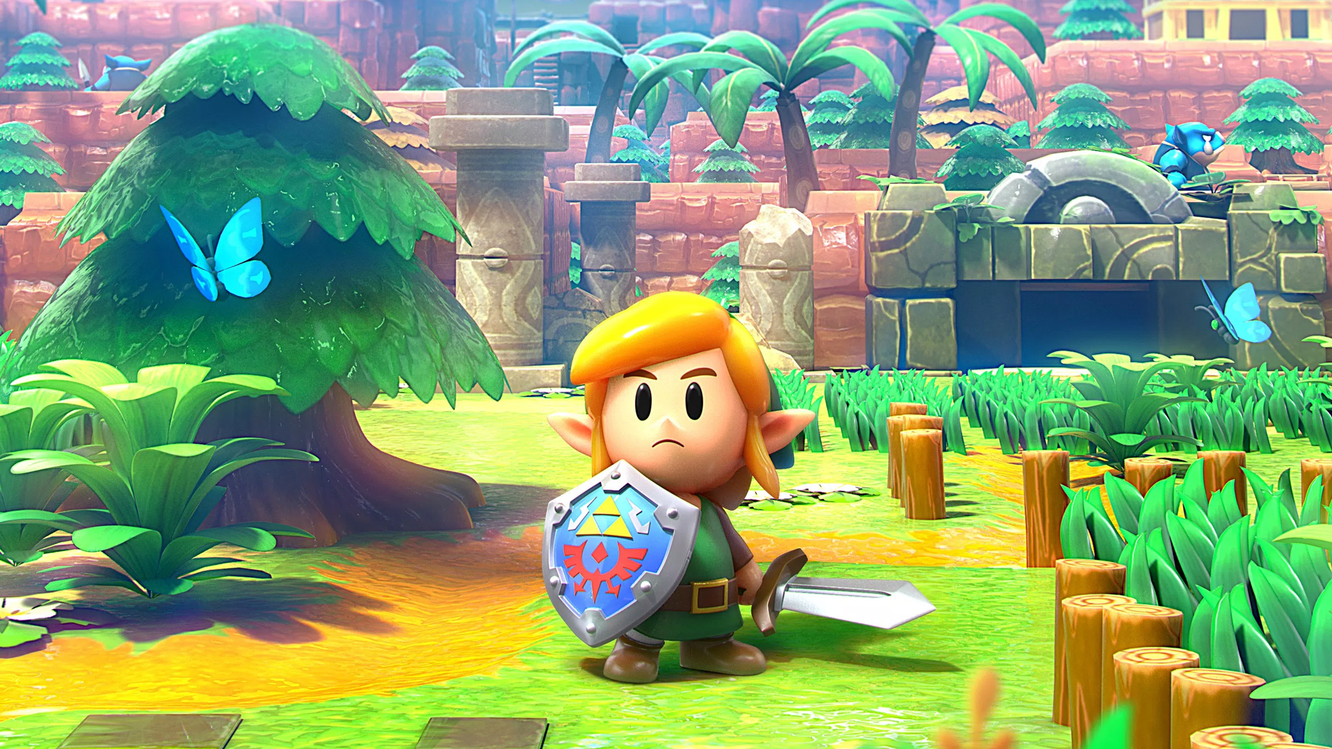 Image result for legend of zelda link's awakening wallpaper