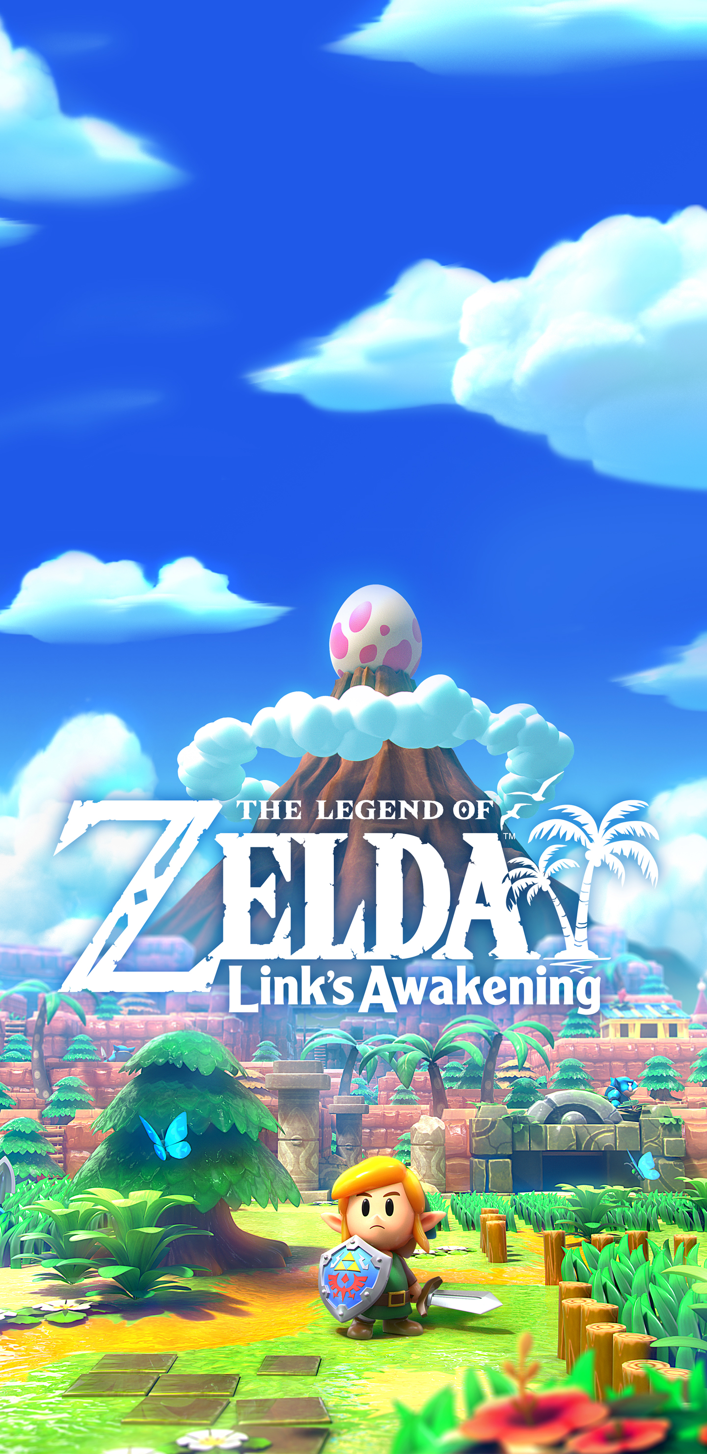 The Legend Of Zelda Link S Awakening Cover Art Wallpaper Cat