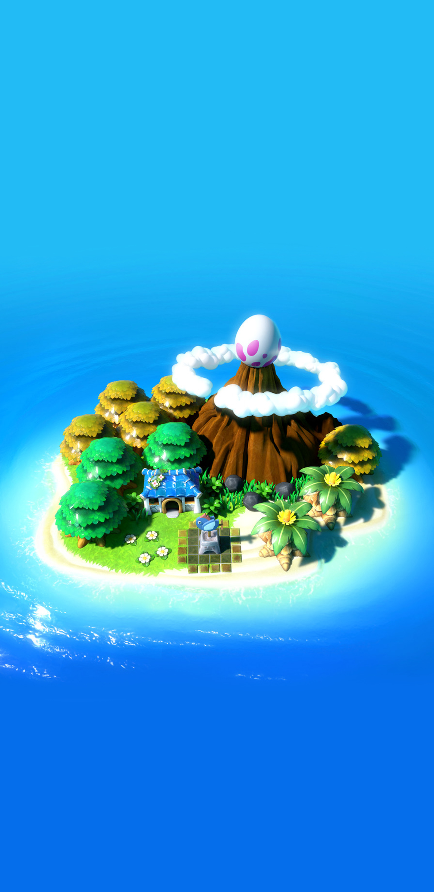 The Legend Of Zelda Link S Awakening Koholint Island No Logo Wallpaper Cat With Monocle