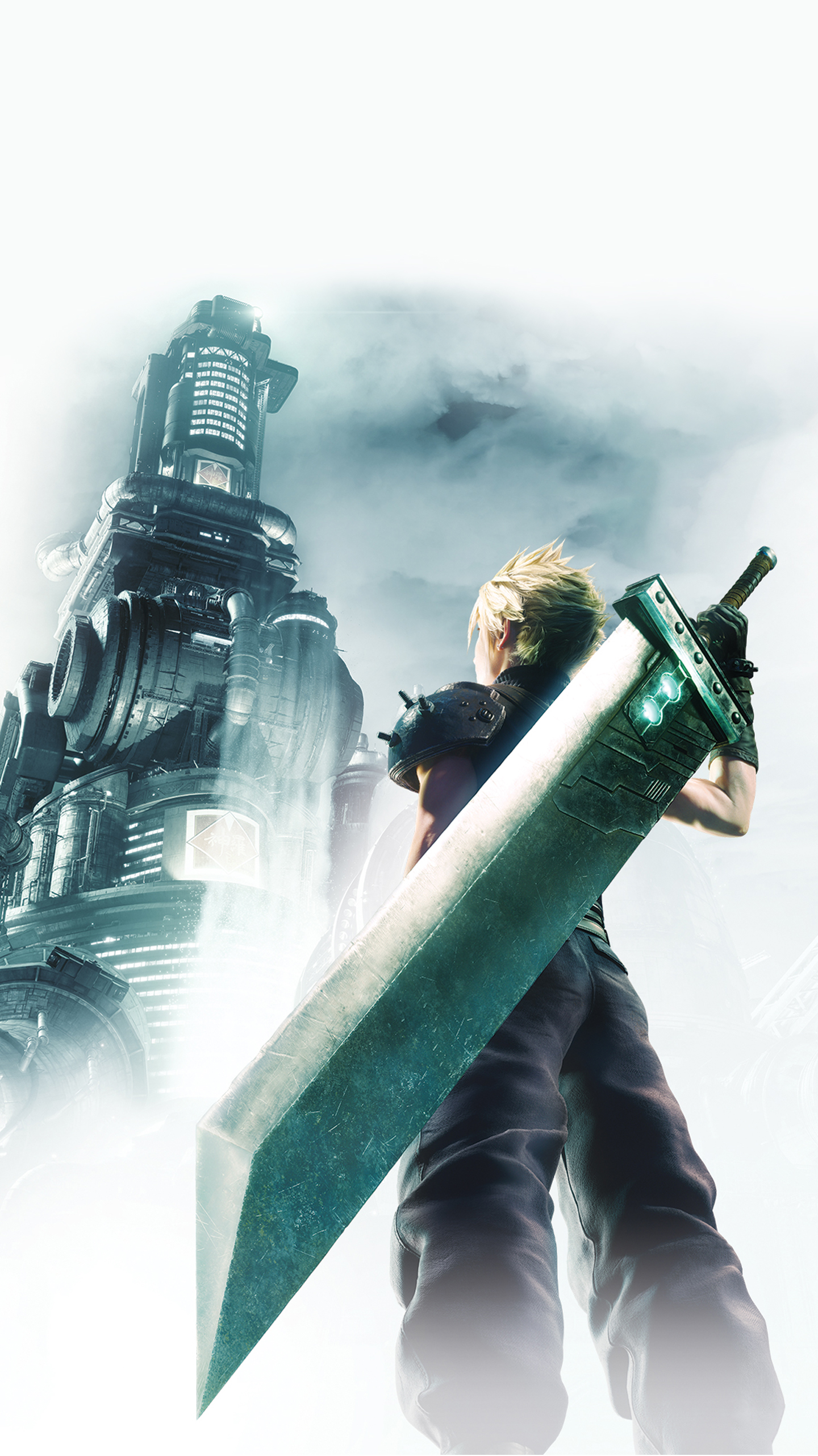 Final Fantasy VII Remake Cover Wallpaper   Cat with Monocle
