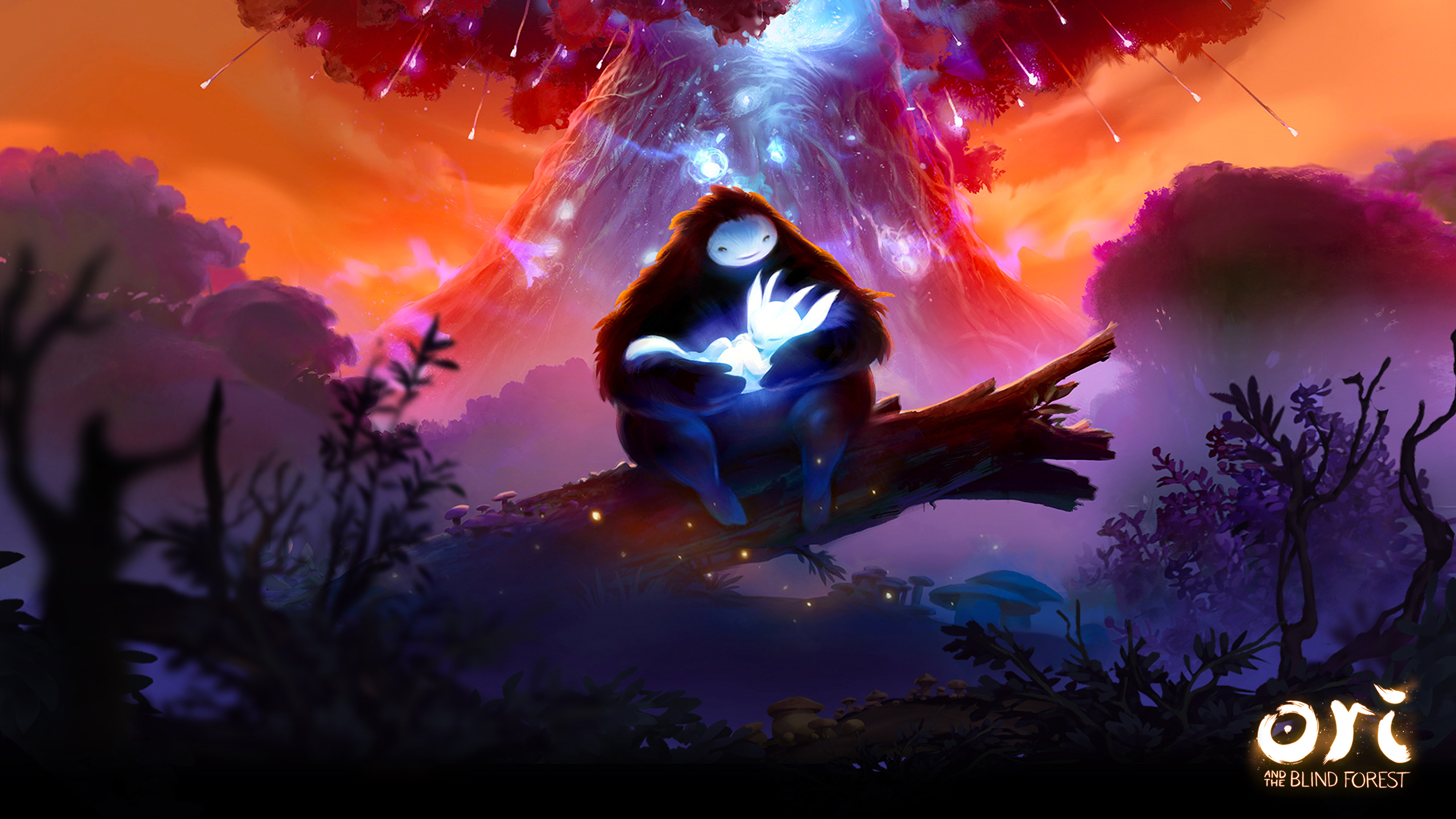 Ori And The Blind Forest Cover Wallpaper Cat With Monocle